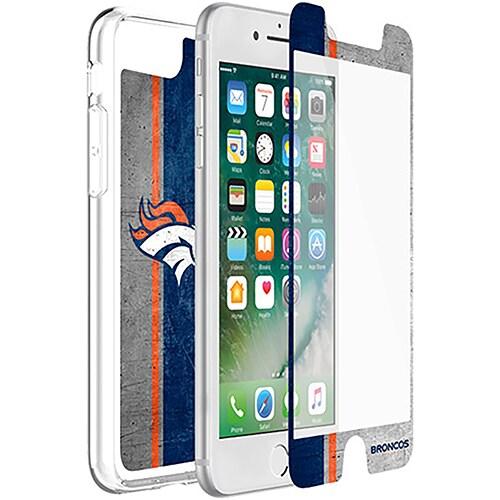Denver Broncos OtterBox iPhone 8 Plus/7 Plus/6 Plus/6s Plus Symmetry Case with Alpha Glass Screen Protector