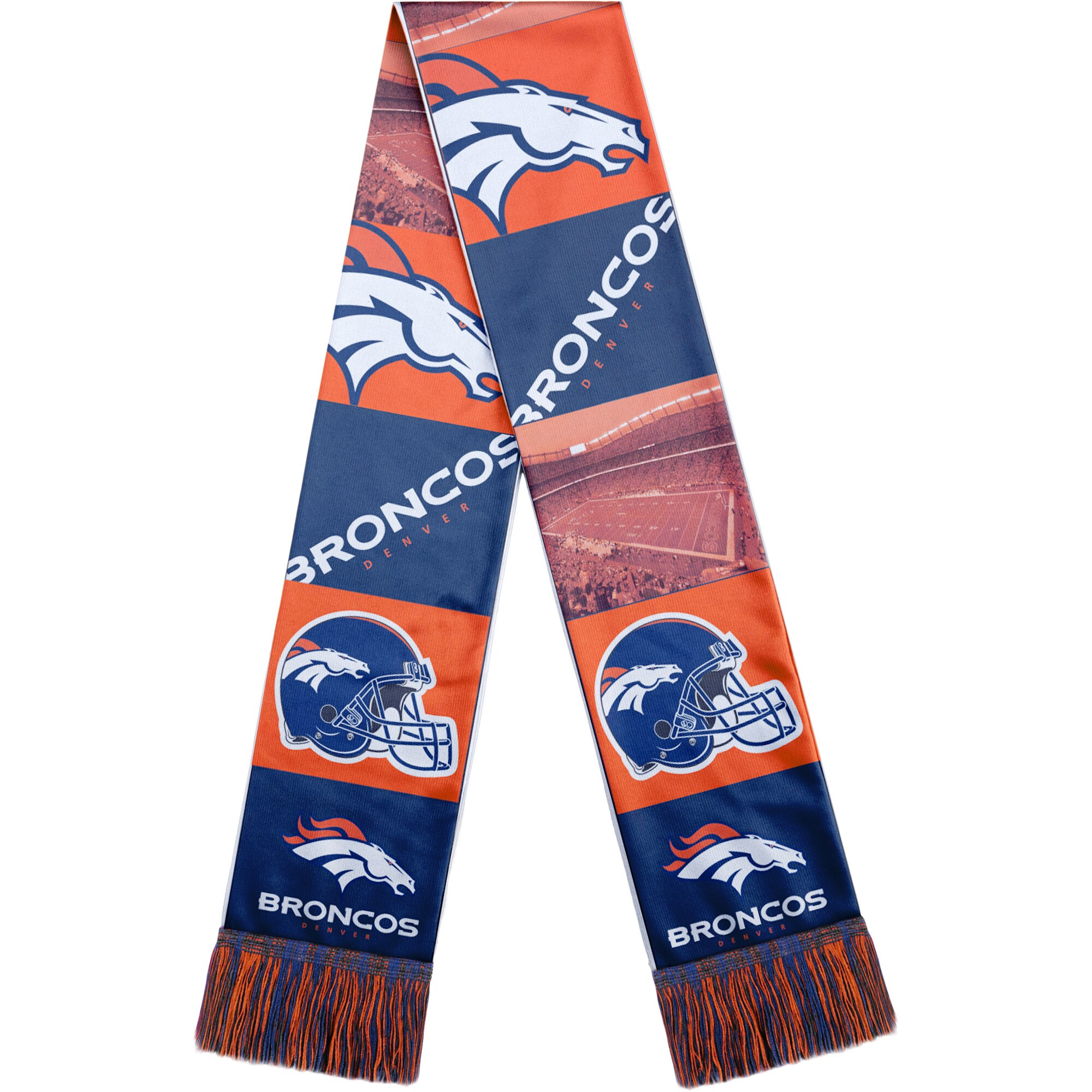 Denver Broncos Bar Scarf - Navy