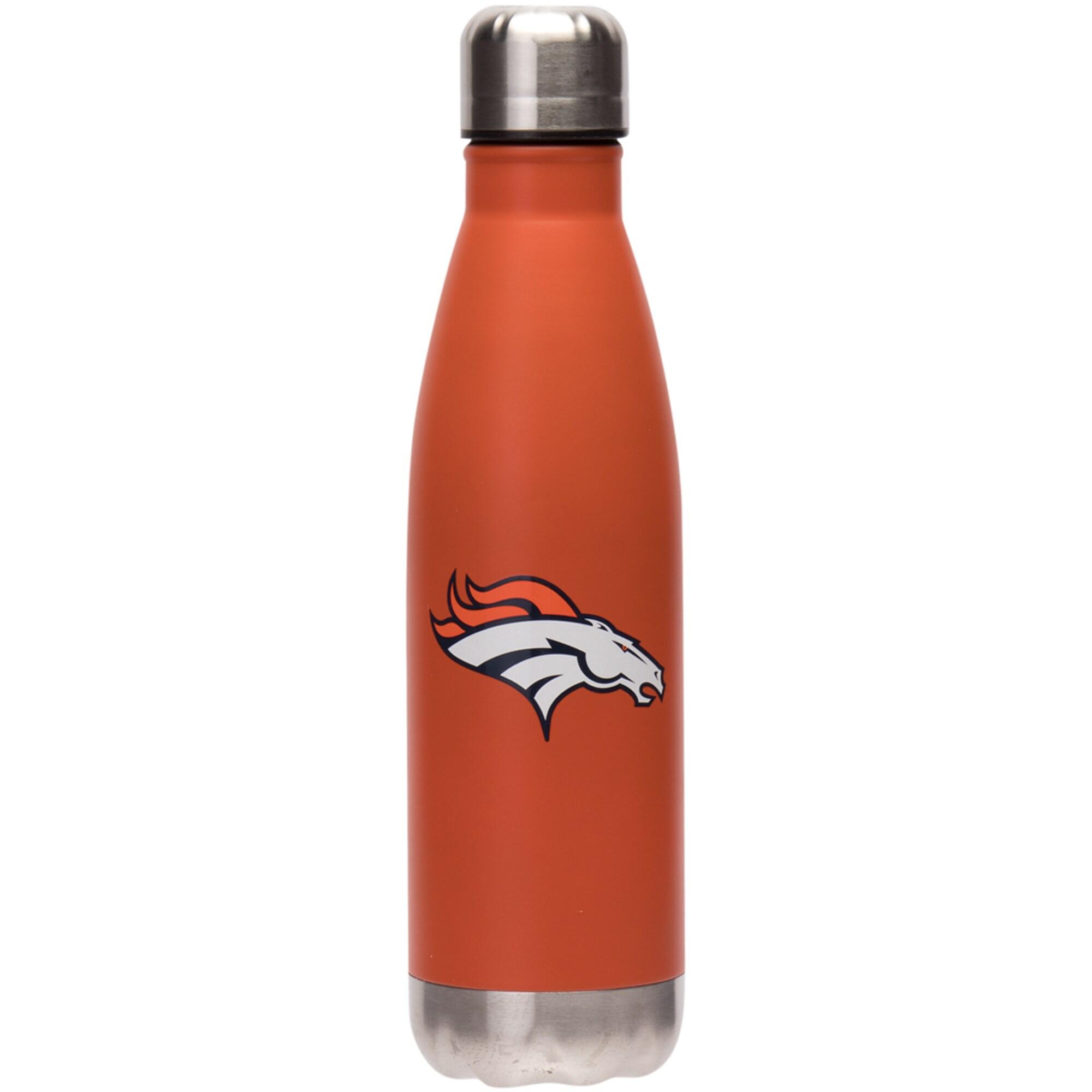 Denver Broncos 17oz. Team Color Stainless Steel Water Bottle
