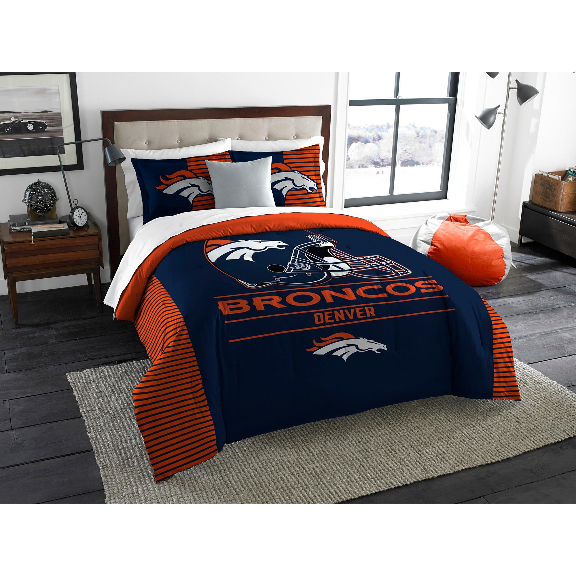 Denver Broncos The Northwest Company NFL Draft King Comforter Set