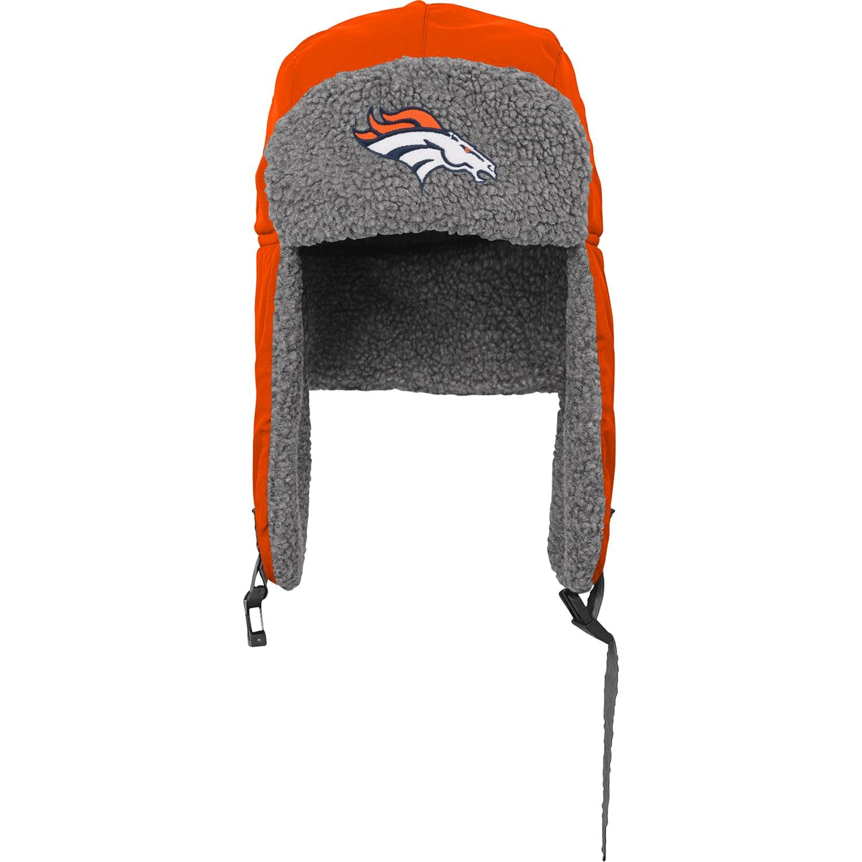 Denver Broncos Youth Winter Trooper Knit Hat - Orange