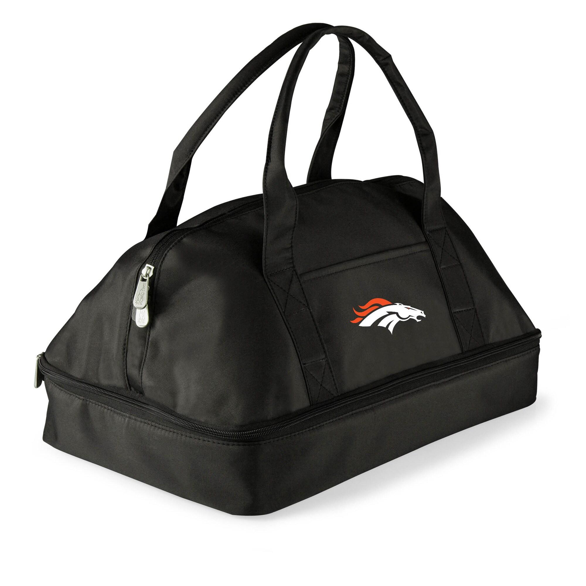 Denver Broncos Potluck Casserole Tote - Black