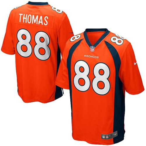 Demaryius Thomas Denver Broncos Nike Youth Team Color Game Jersey - Orange