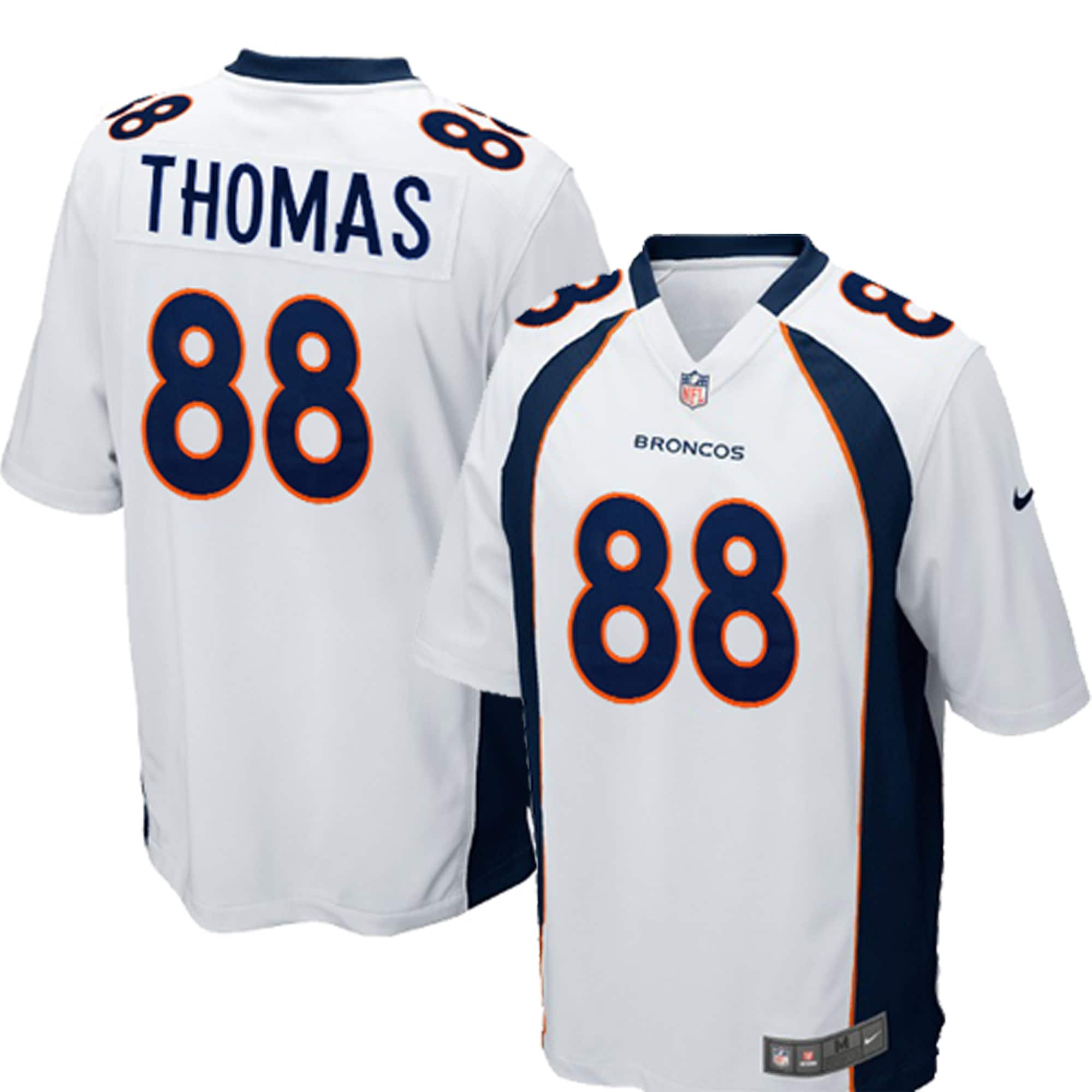 Demaryius Thomas Denver Broncos Nike Youth Game Jersey - White
