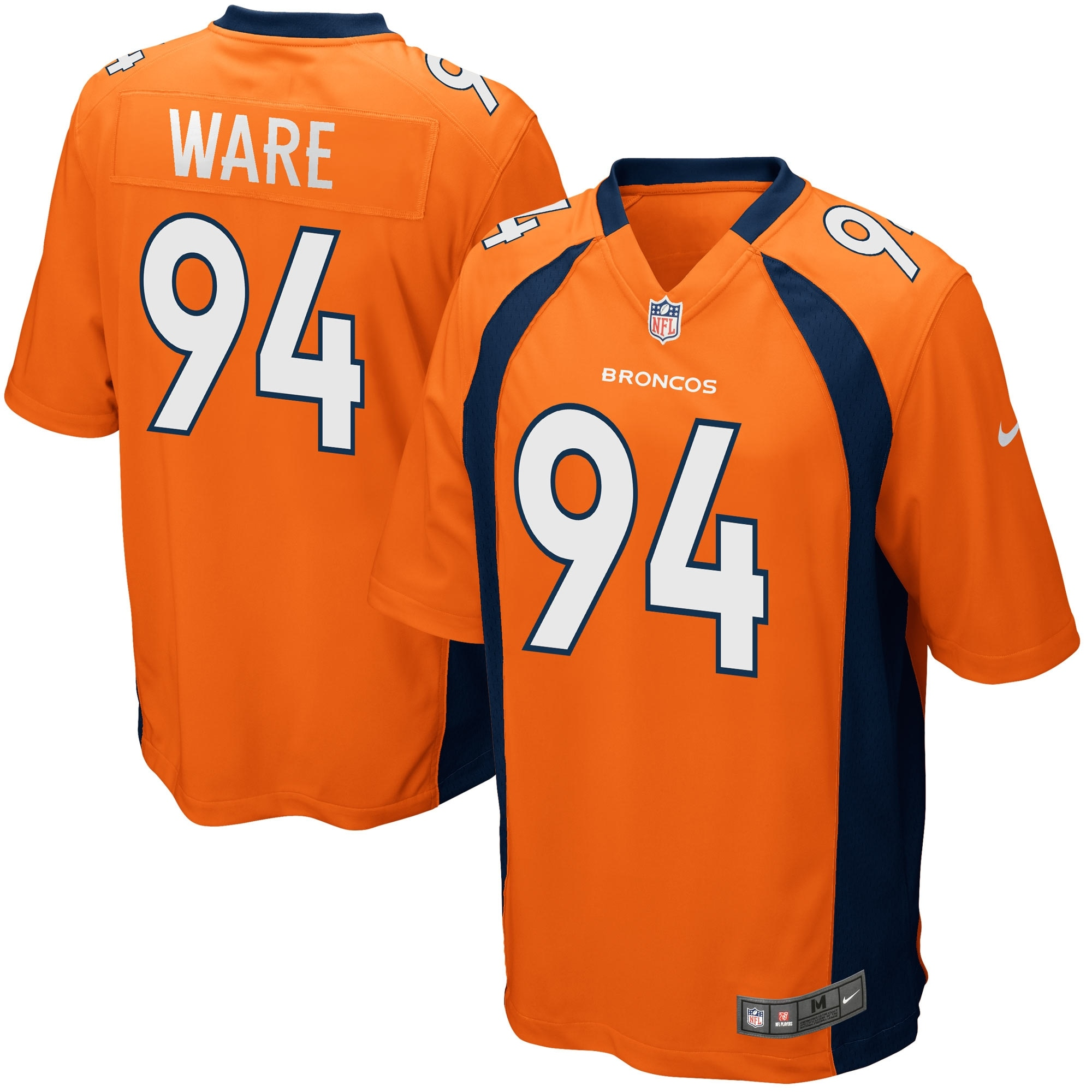 Demarcus Ware Denver Broncos Nike Game Jersey - Orange
