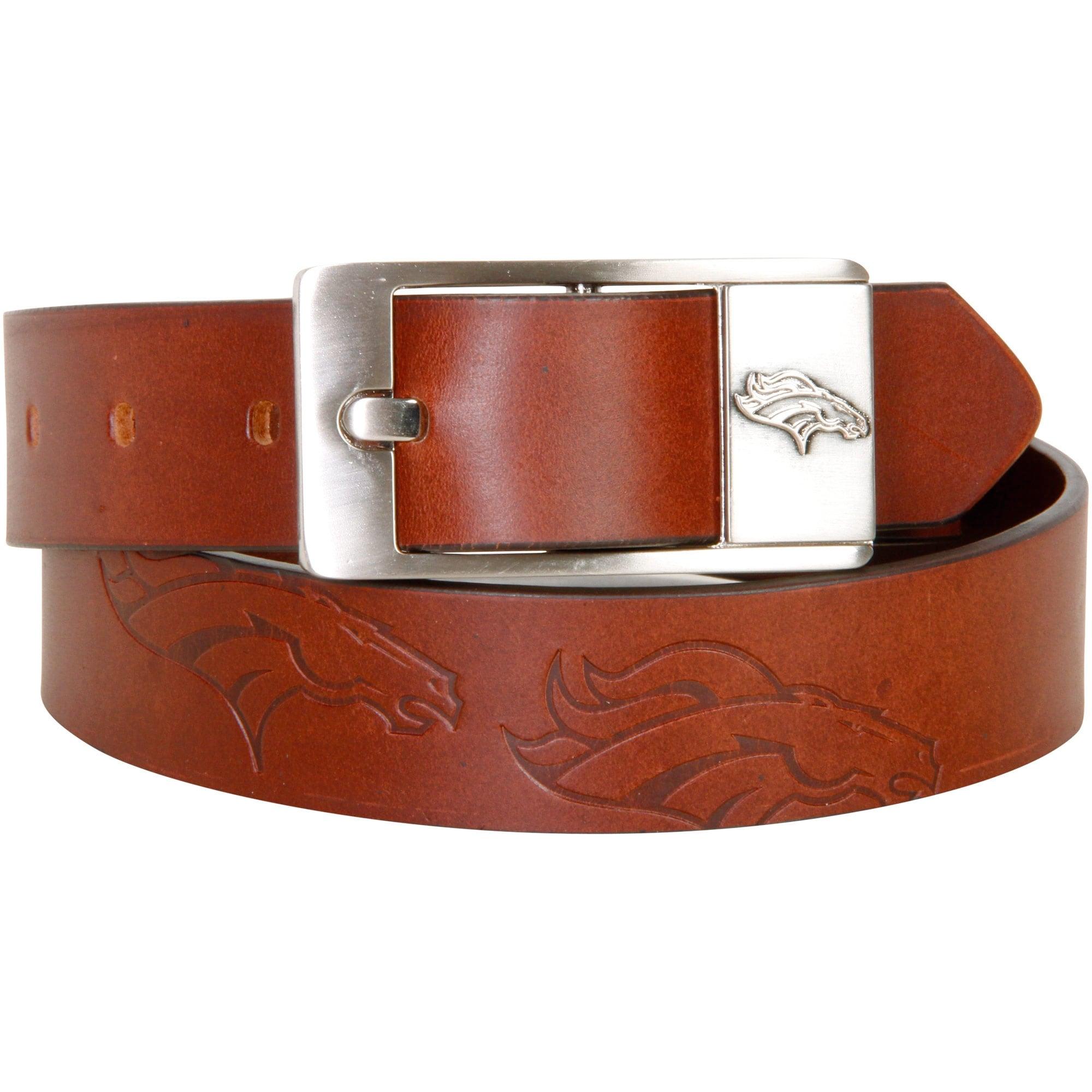 Denver Broncos Brandish Leather Belt