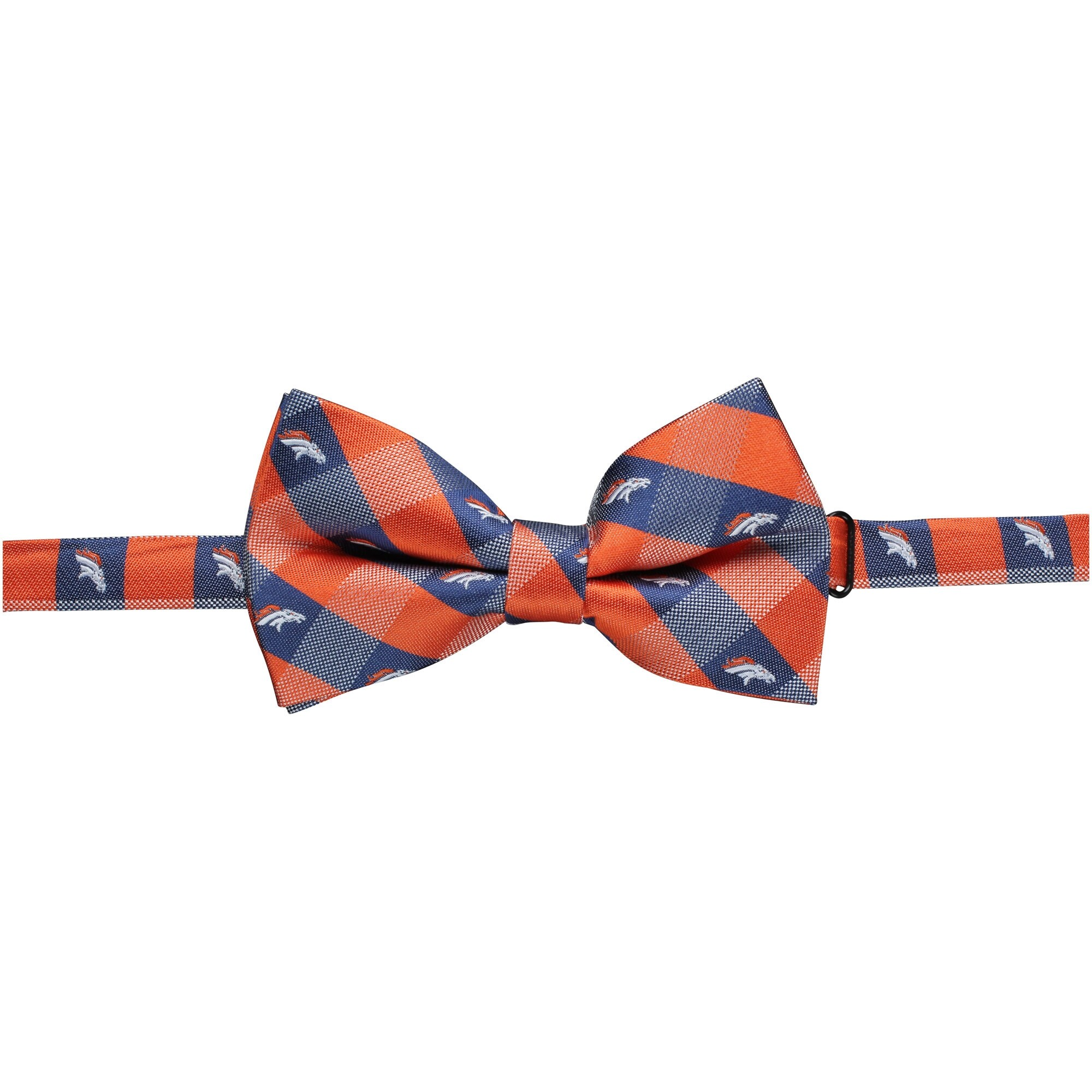 Denver Broncos Check Bow Tie