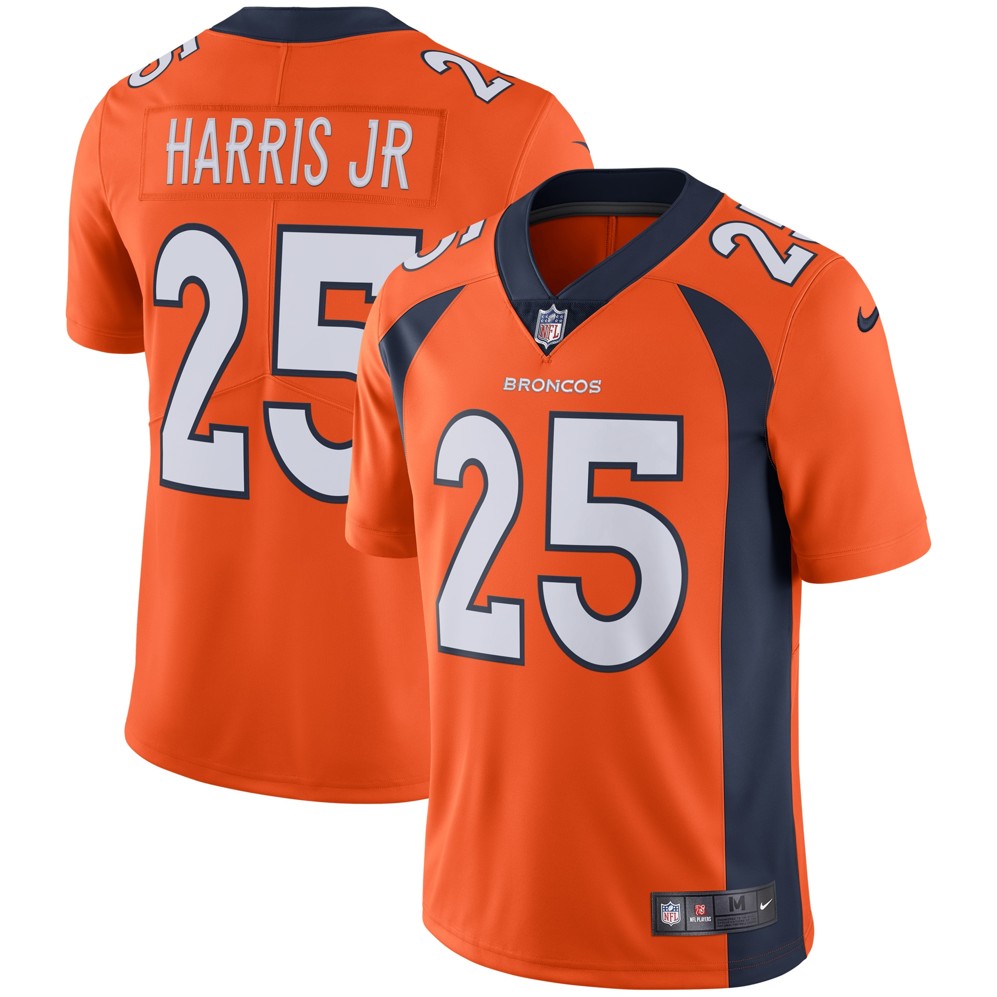 Chris Harris Jr Denver Broncos Nike Vapor Untouchable Limited Jersey - Orange