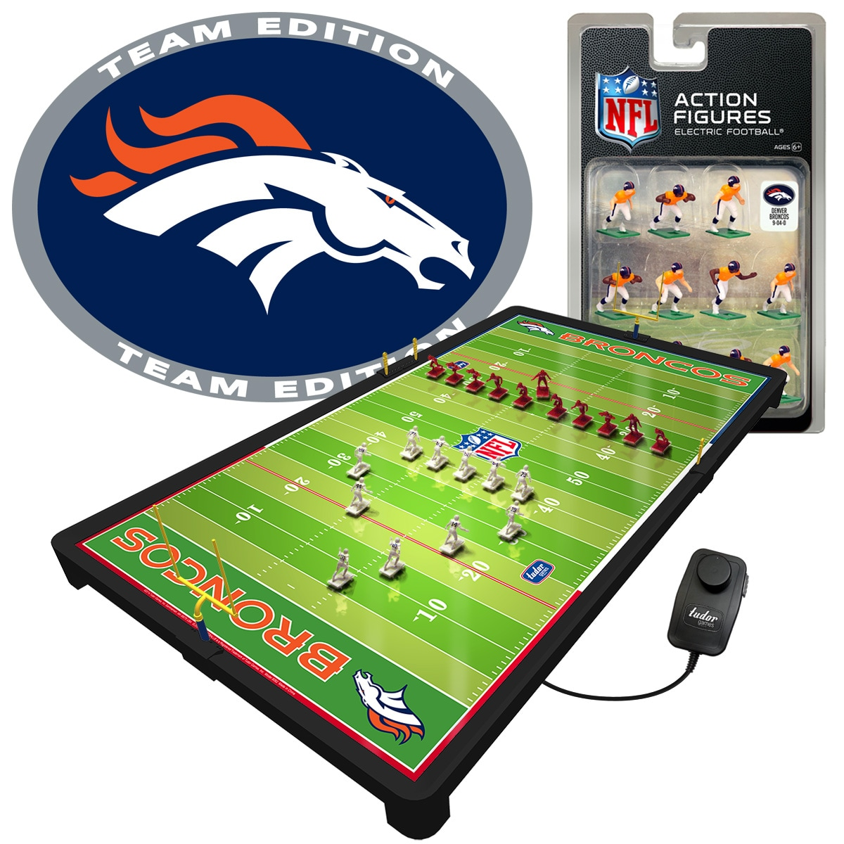 Denver Broncos Deluxe Electric Football Game