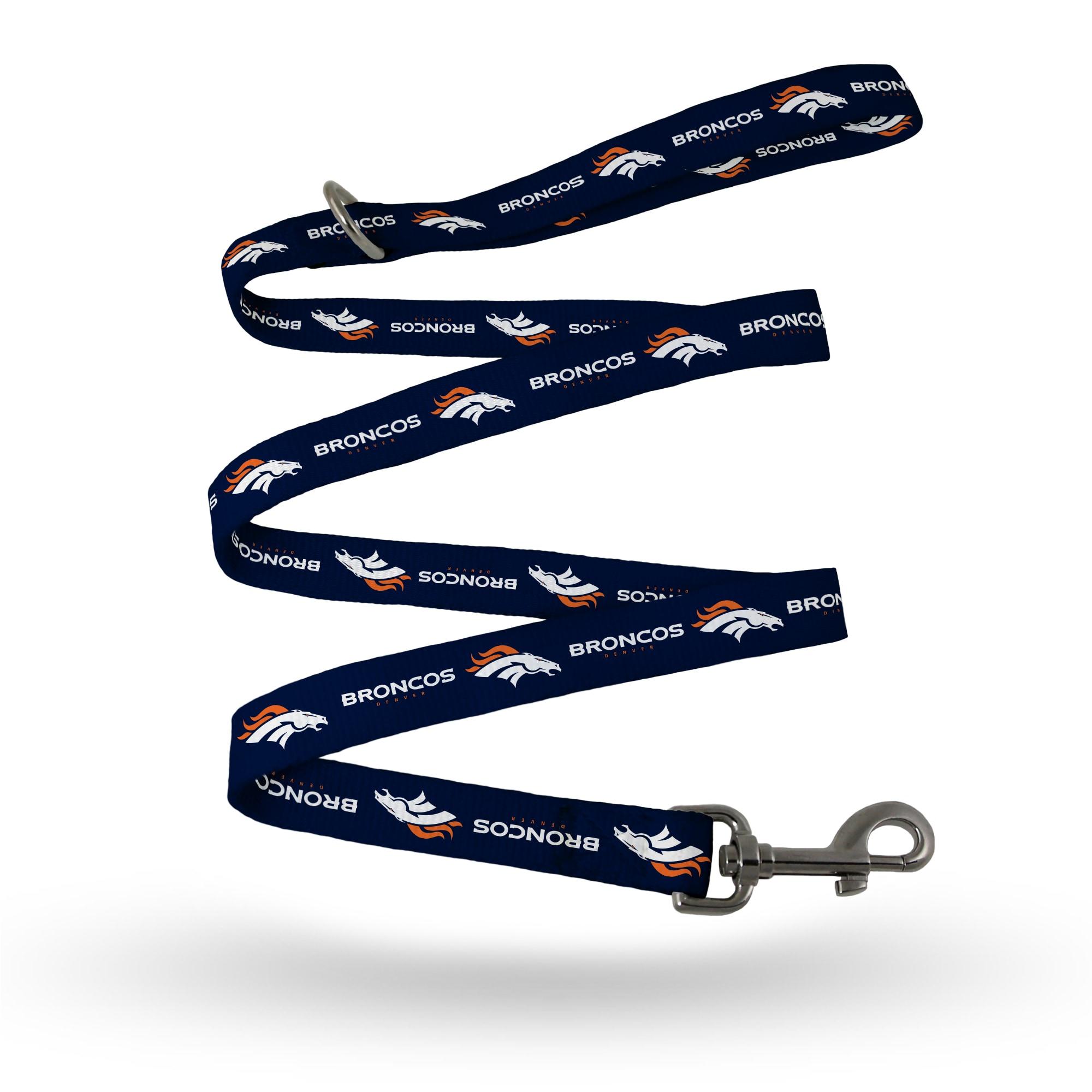 Denver Broncos Sparo Double Print Pet Leash