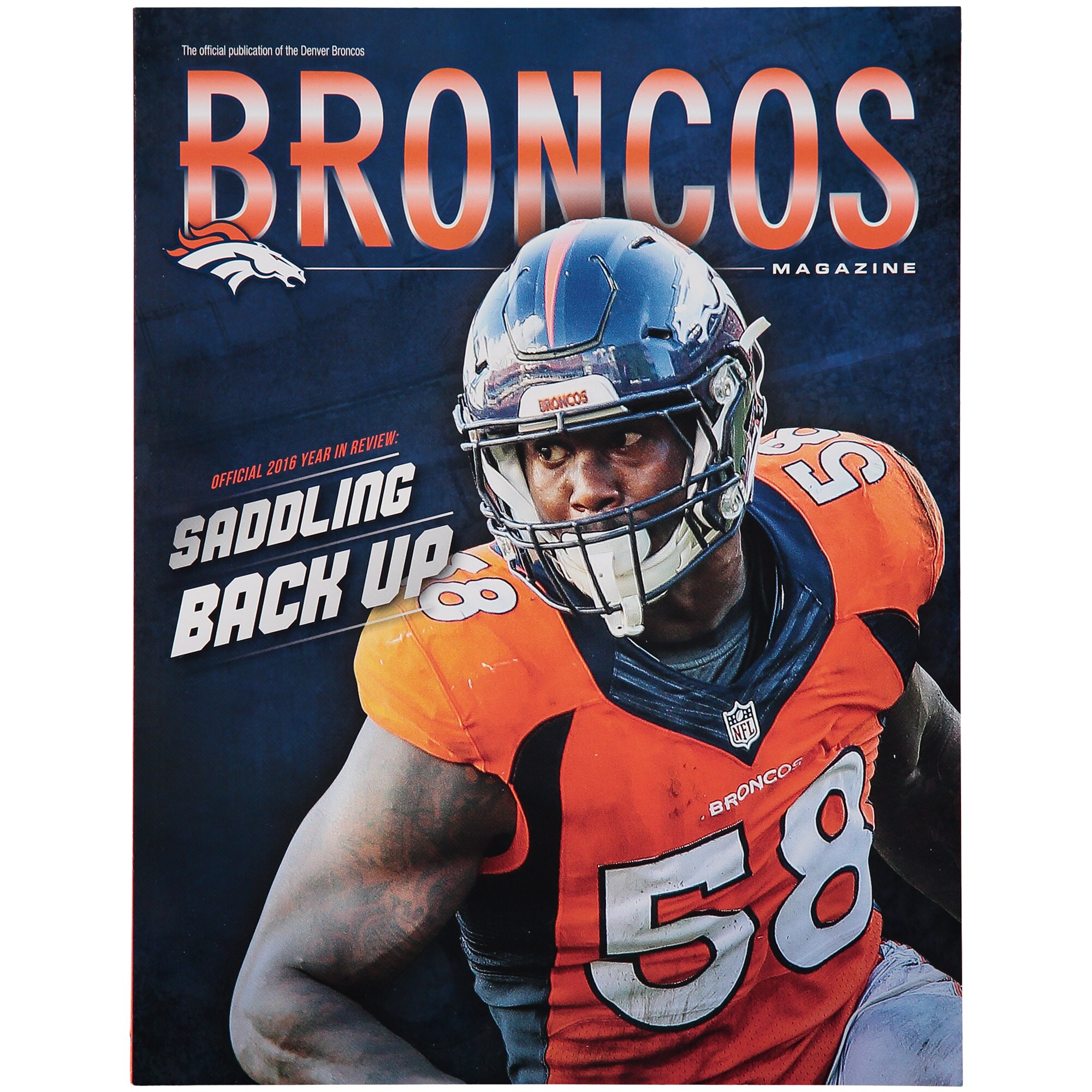Denver Broncos 2016 Yearbook