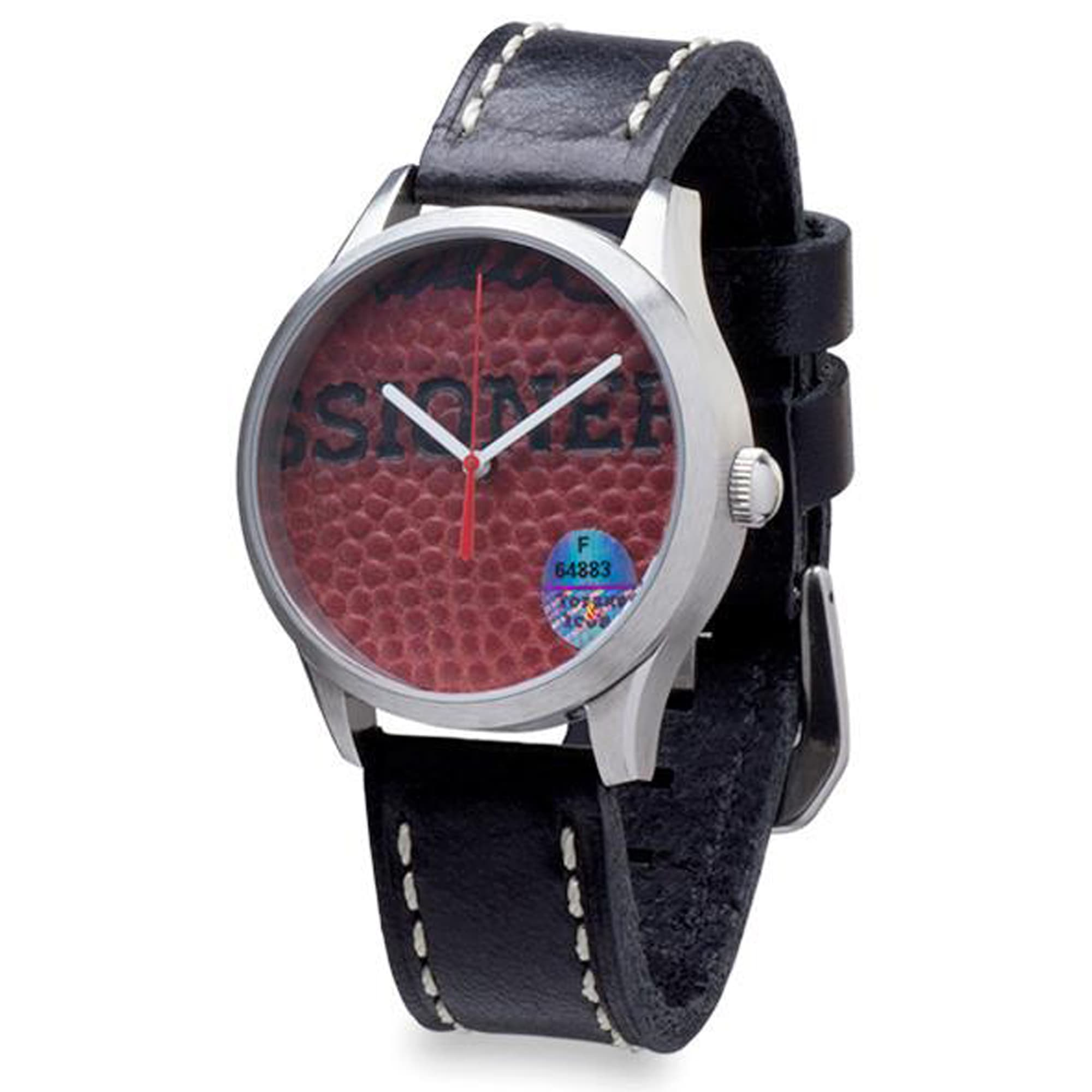 Denver Broncos Tokens & Icons Game Used Football Watch