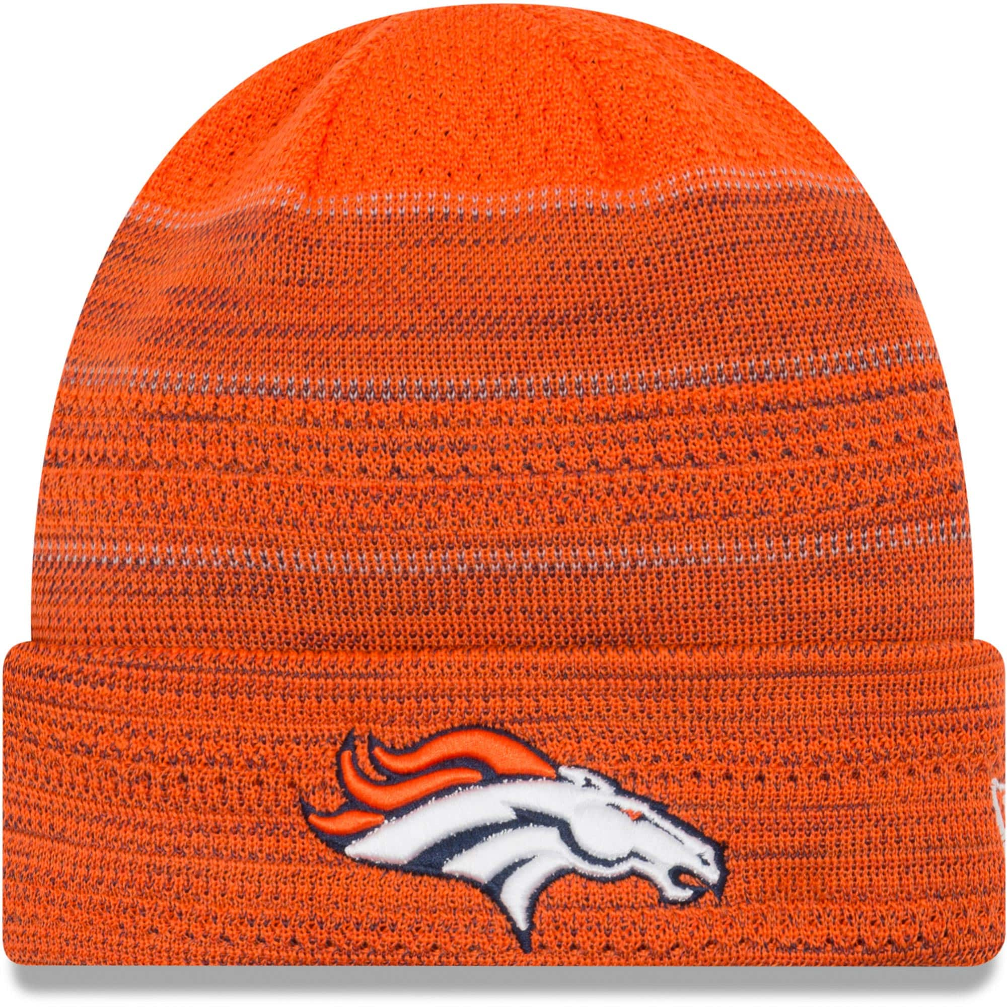 Denver Broncos New Era 2017 Sideline Official TD Knit Hat - Orange