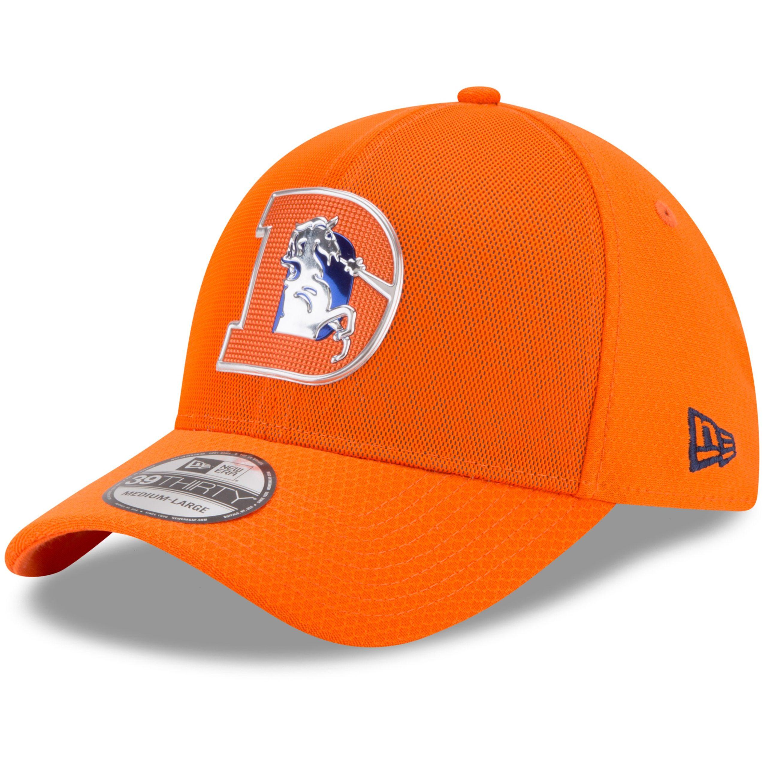 Denver Broncos New Era 2017 Color Rush 39THIRTY Flex Hat - Orange