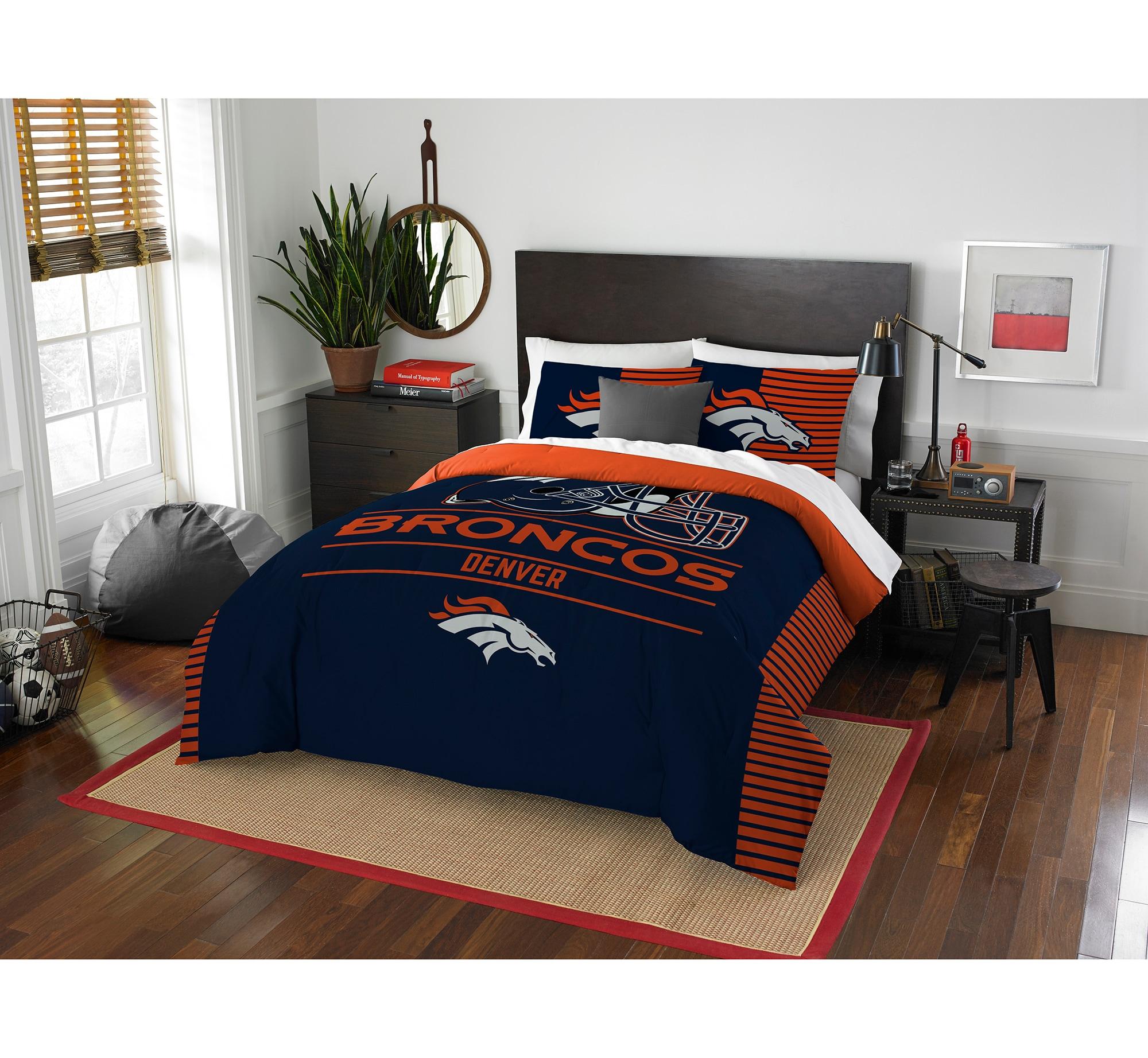 Denver Broncos The Northwest Company NFL Draft Full/Queen Comforter Set