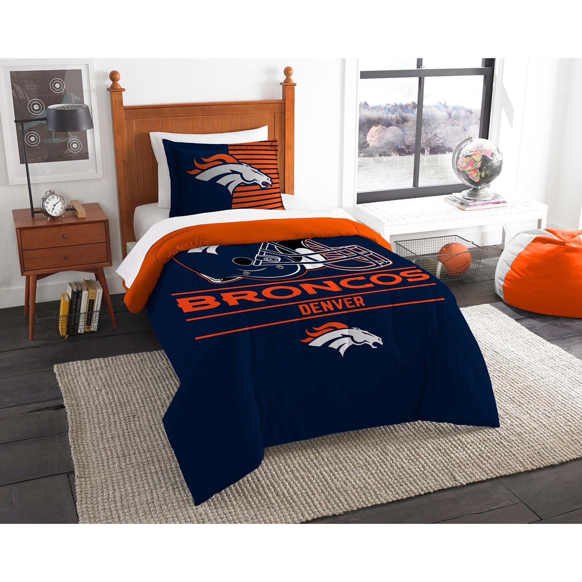 Denver Broncos The Northwest Company NFL Draft Twin Comforter Set