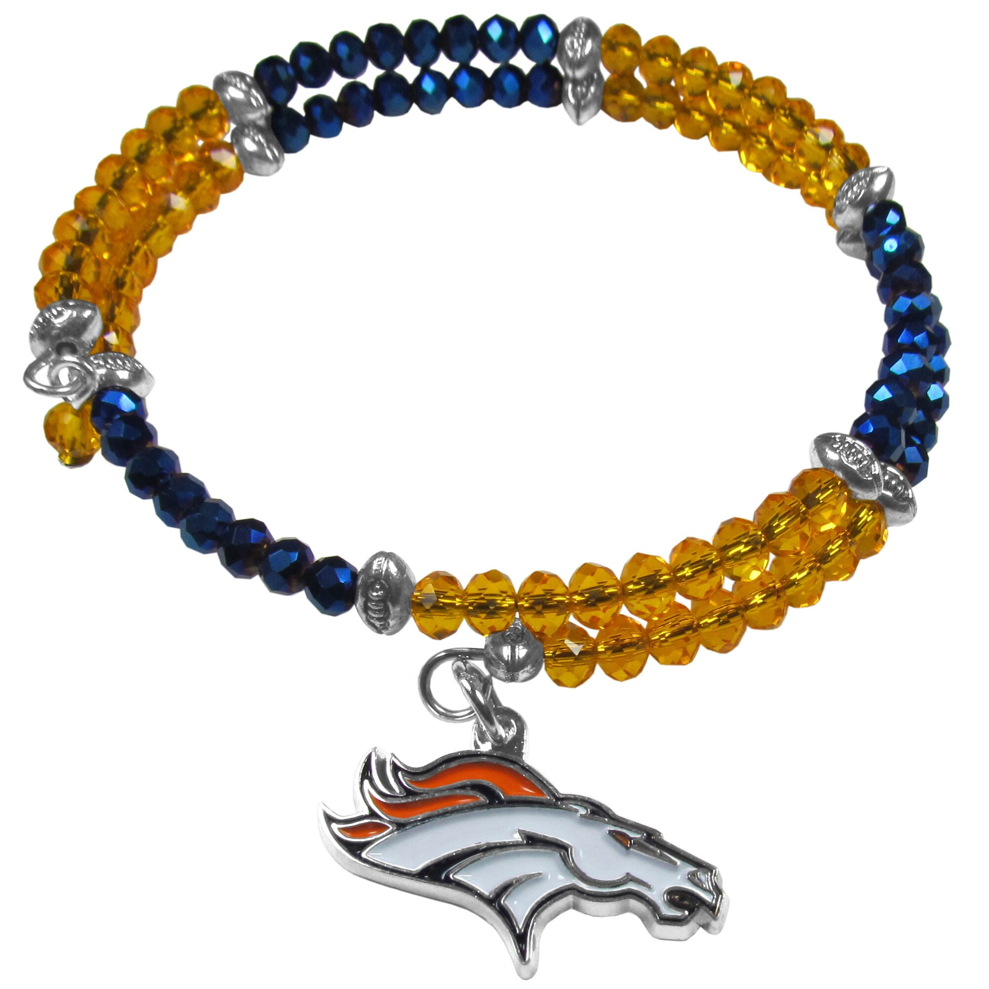 Denver Broncos Women's 400 Degrees Crystal Bracelet
