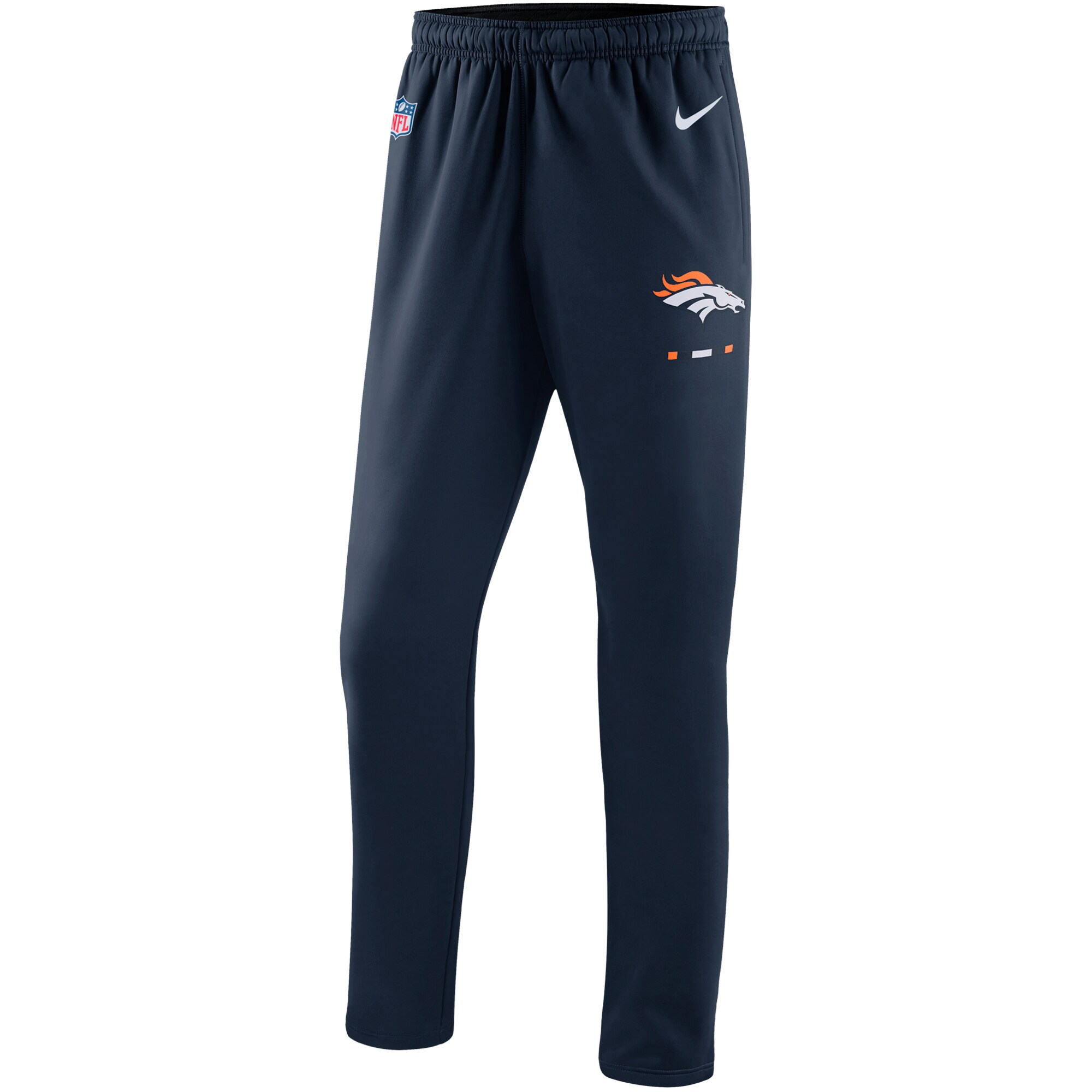 Denver Broncos Nike Sideline Team Logo Performance Pants - Navy