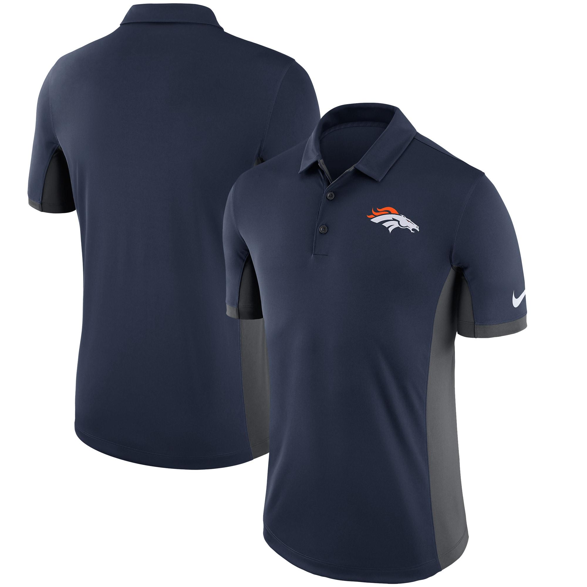 Denver Broncos Nike Evergreen Performance Polo - Navy