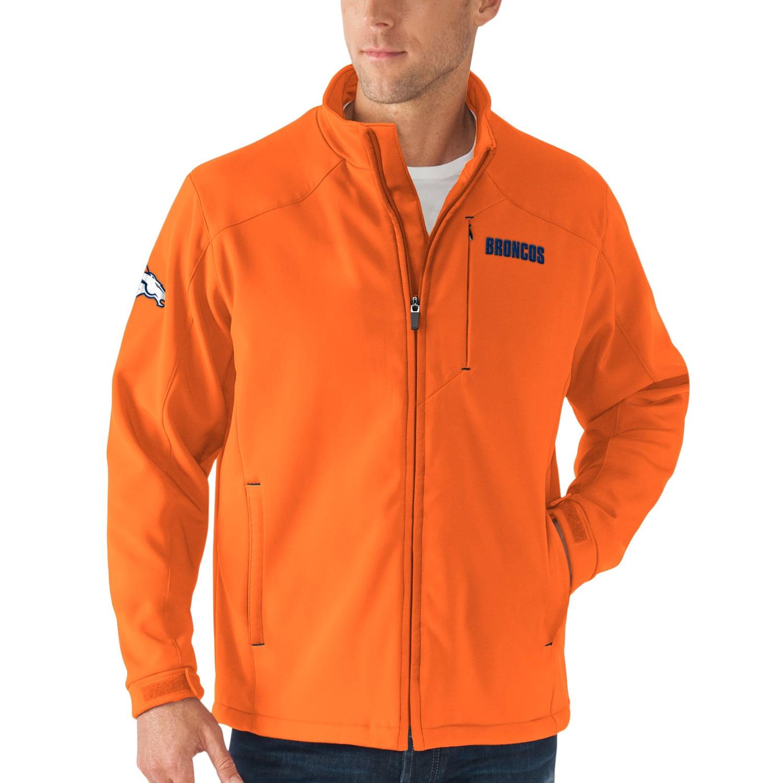 Denver Broncos G-III Sports by Carl Banks Fullback Bonded Full-Zip Jacket - Orange
