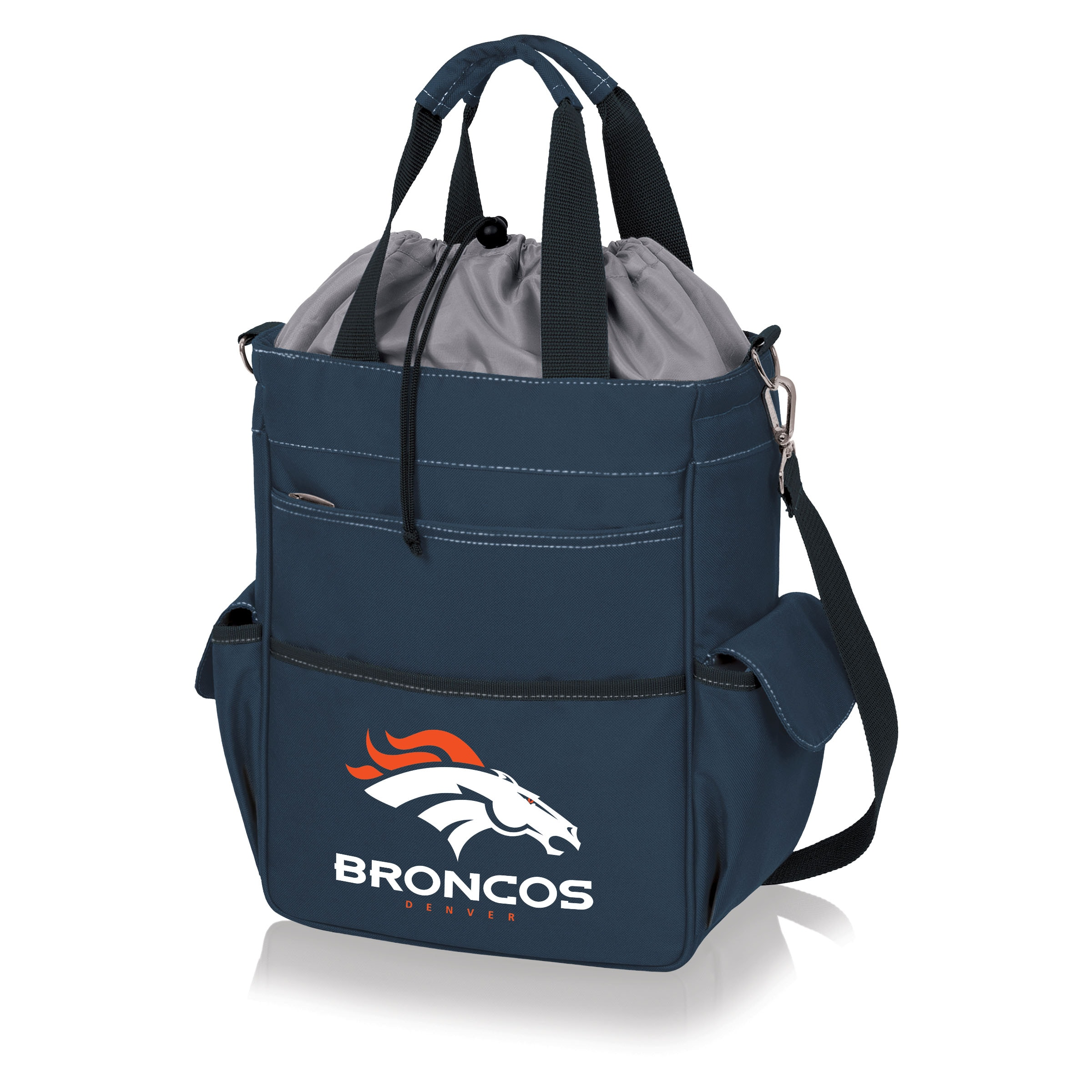 Denver Broncos Activo Cooler Tote - Navy