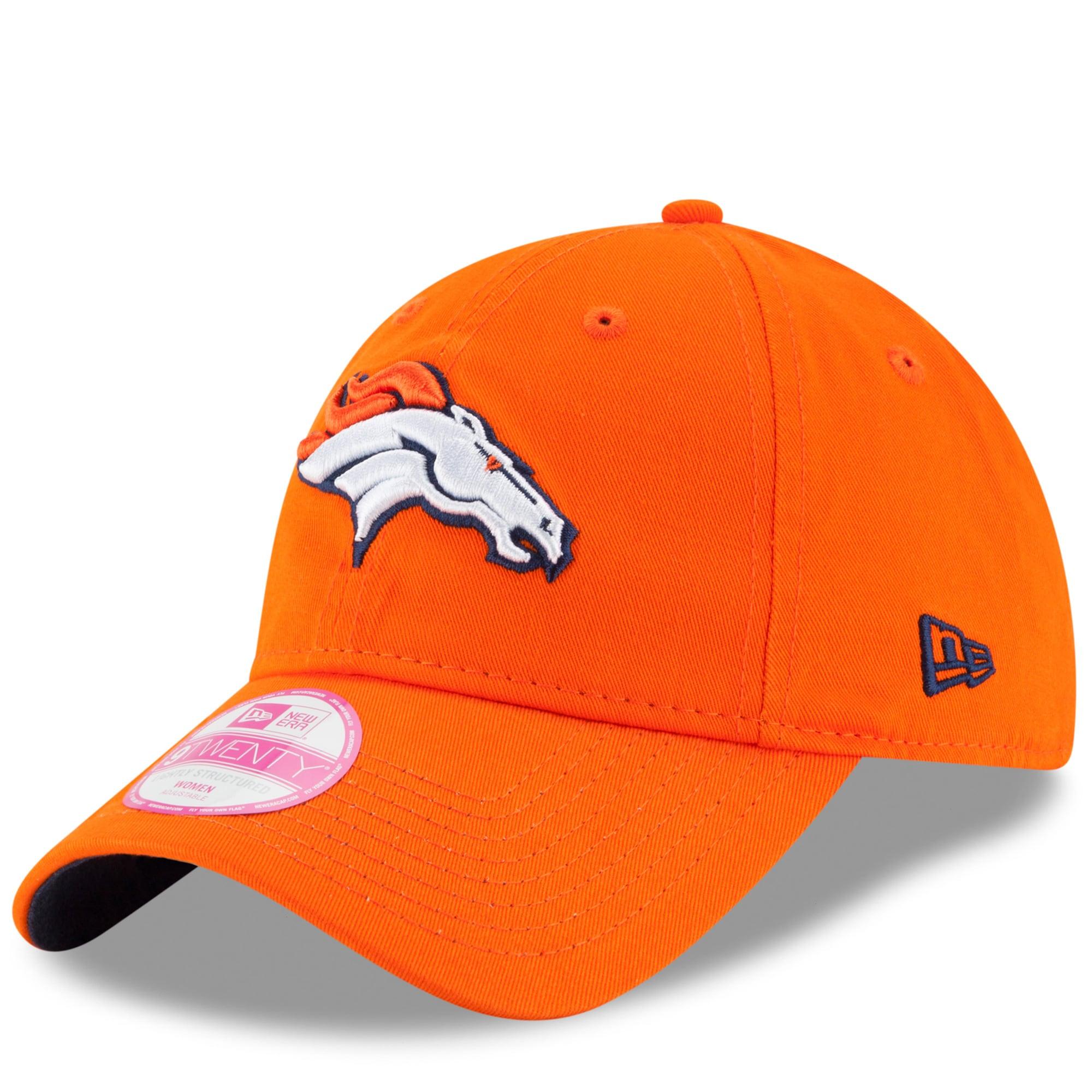 Denver Broncos New Era Women's Preferred Pick 9TWENTY Adjustable Hat - Orange