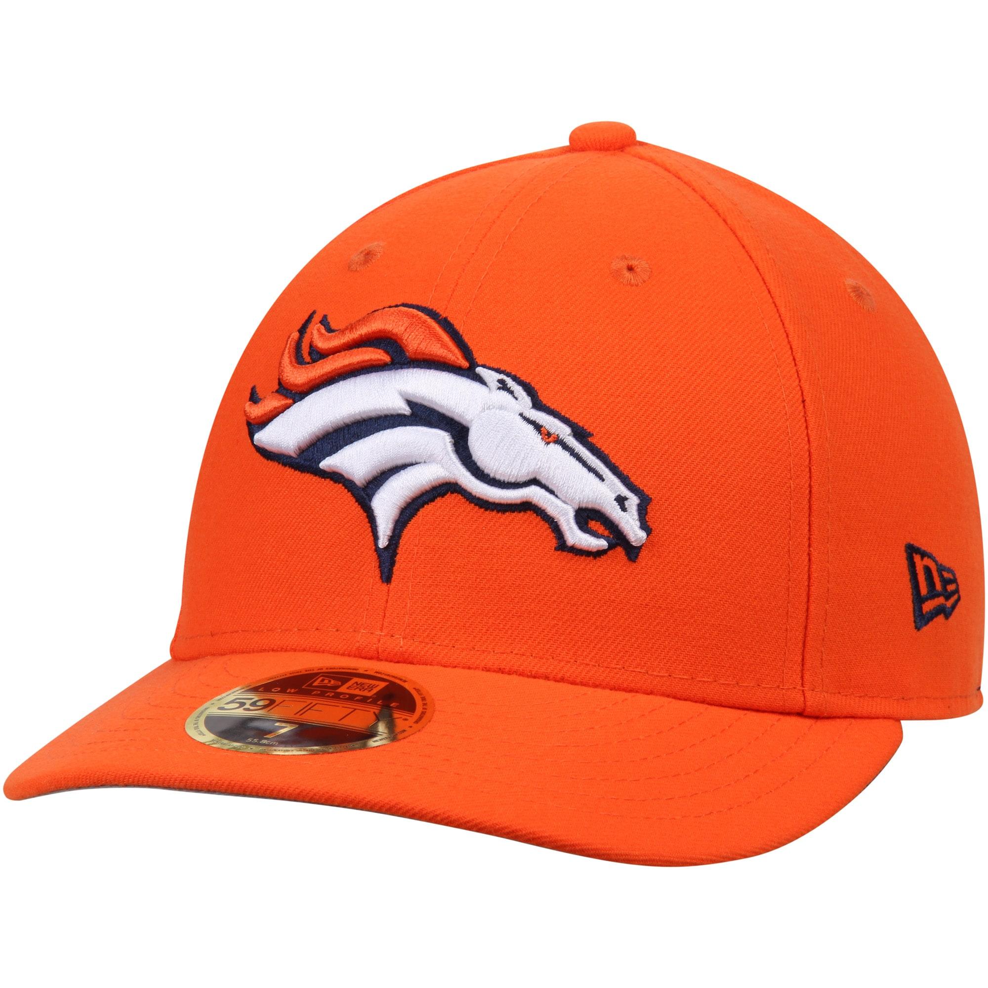 Denver Broncos New Era Omaha Low Profile 59FIFTY Structured Hat - Orange