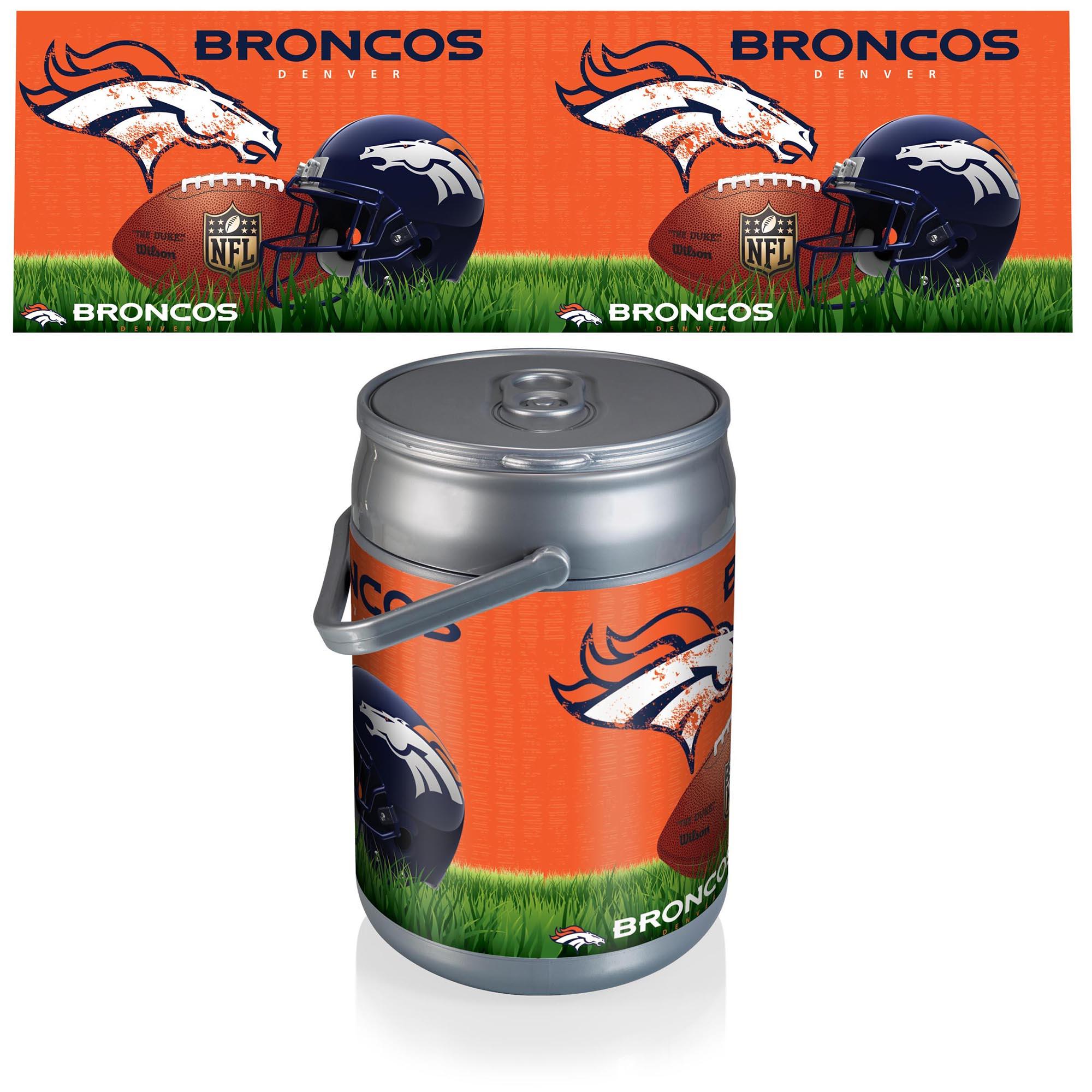 Denver Broncos Football Can Cooler