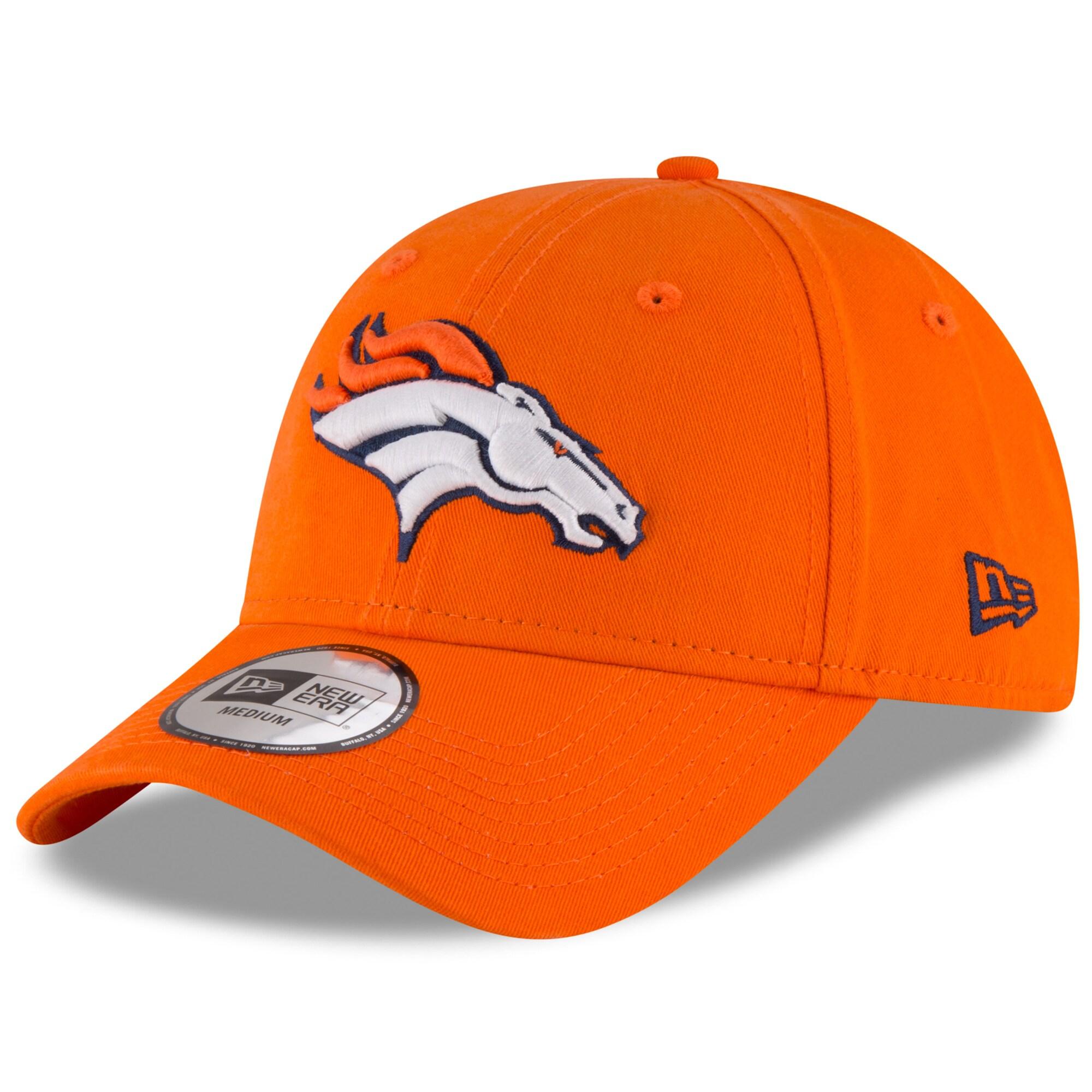 Denver Broncos New Era NE Core Fit 49FORTY Fitted Hat - Orange