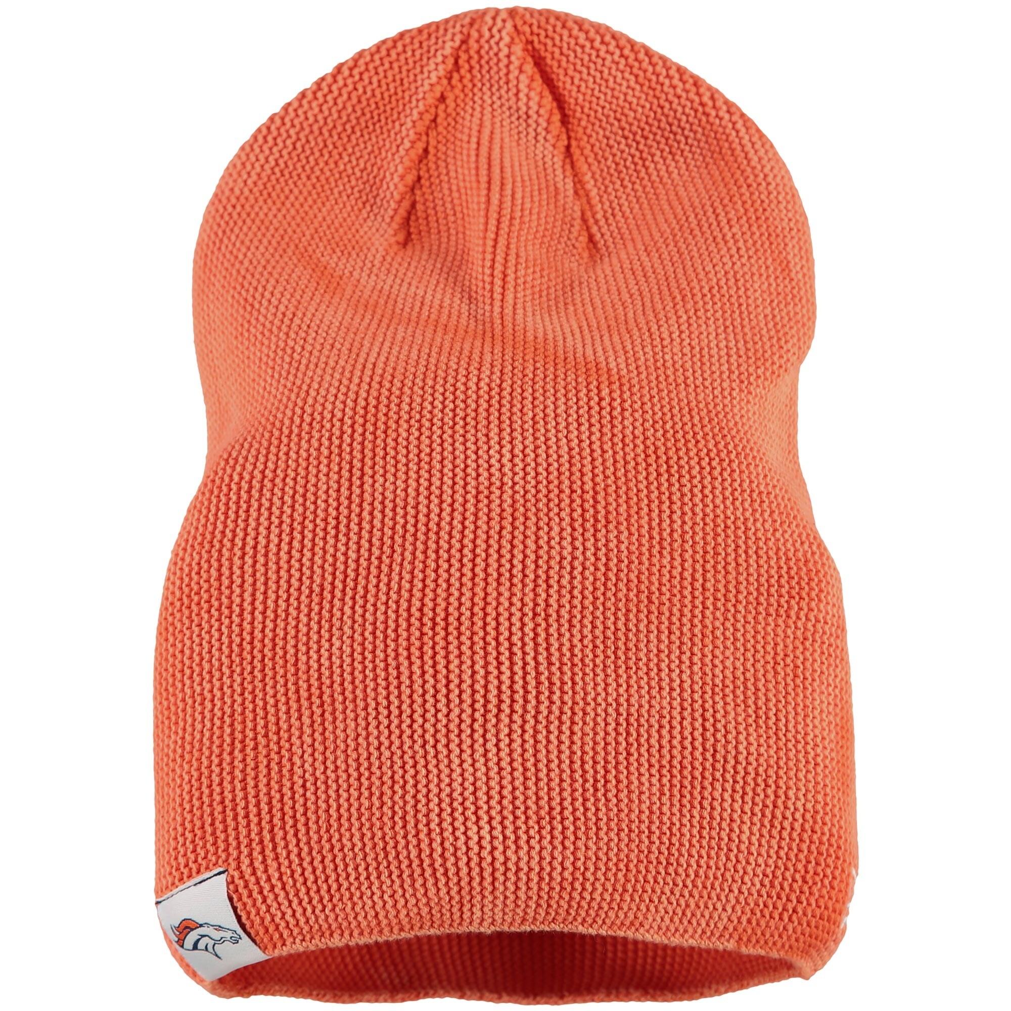 Denver Broncos New Era Women's Slouch Pick Knit Beanie - Orange
