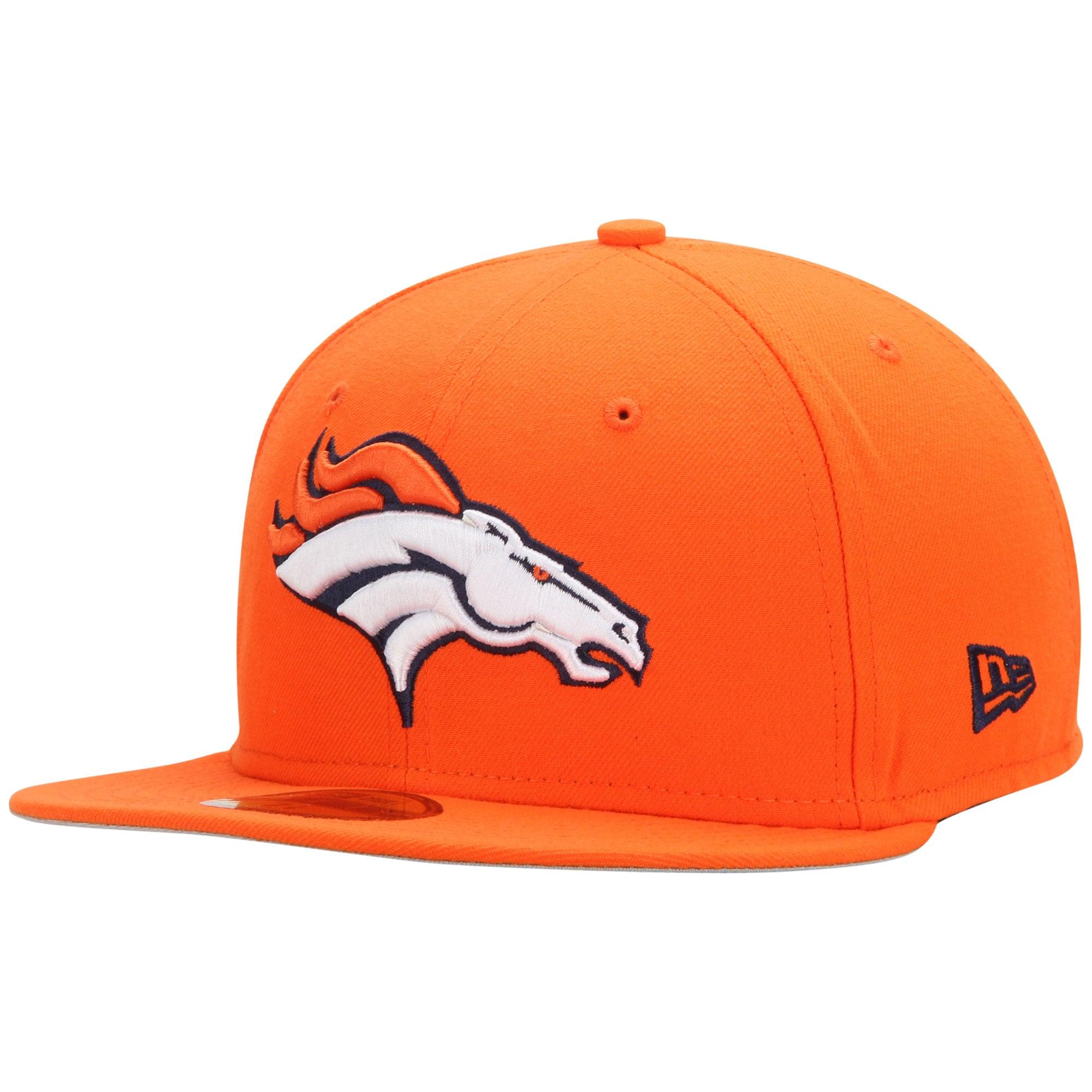 Denver Broncos New Era State Clip 59FIFTY Fitted Hat - Orange