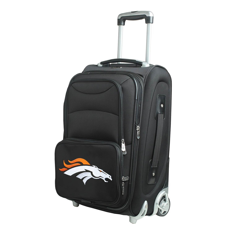 "Denver Broncos 21"" Rolling Carry-On Suitcase"