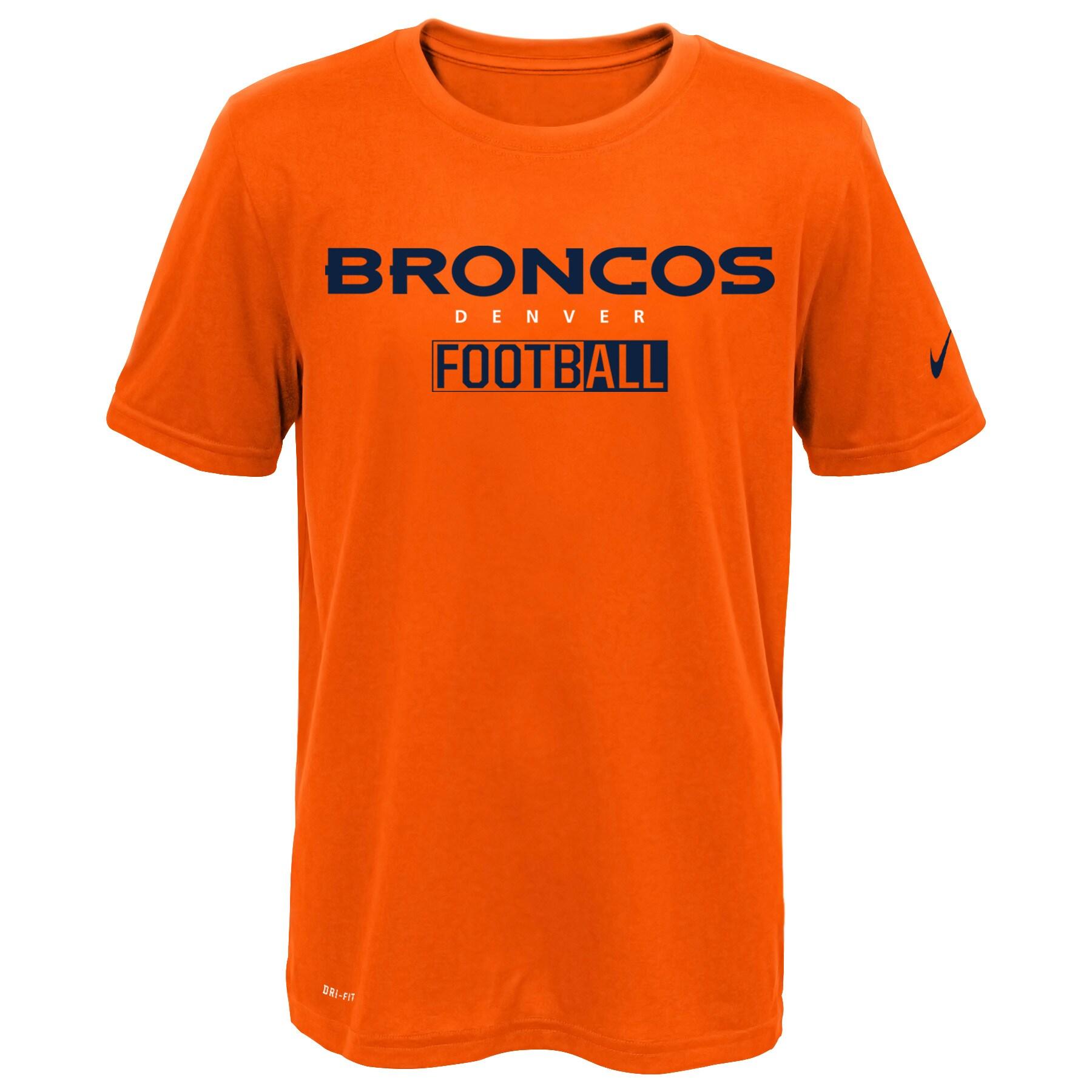 Denver Broncos Nike All Football Legend T-Shirt - Orange