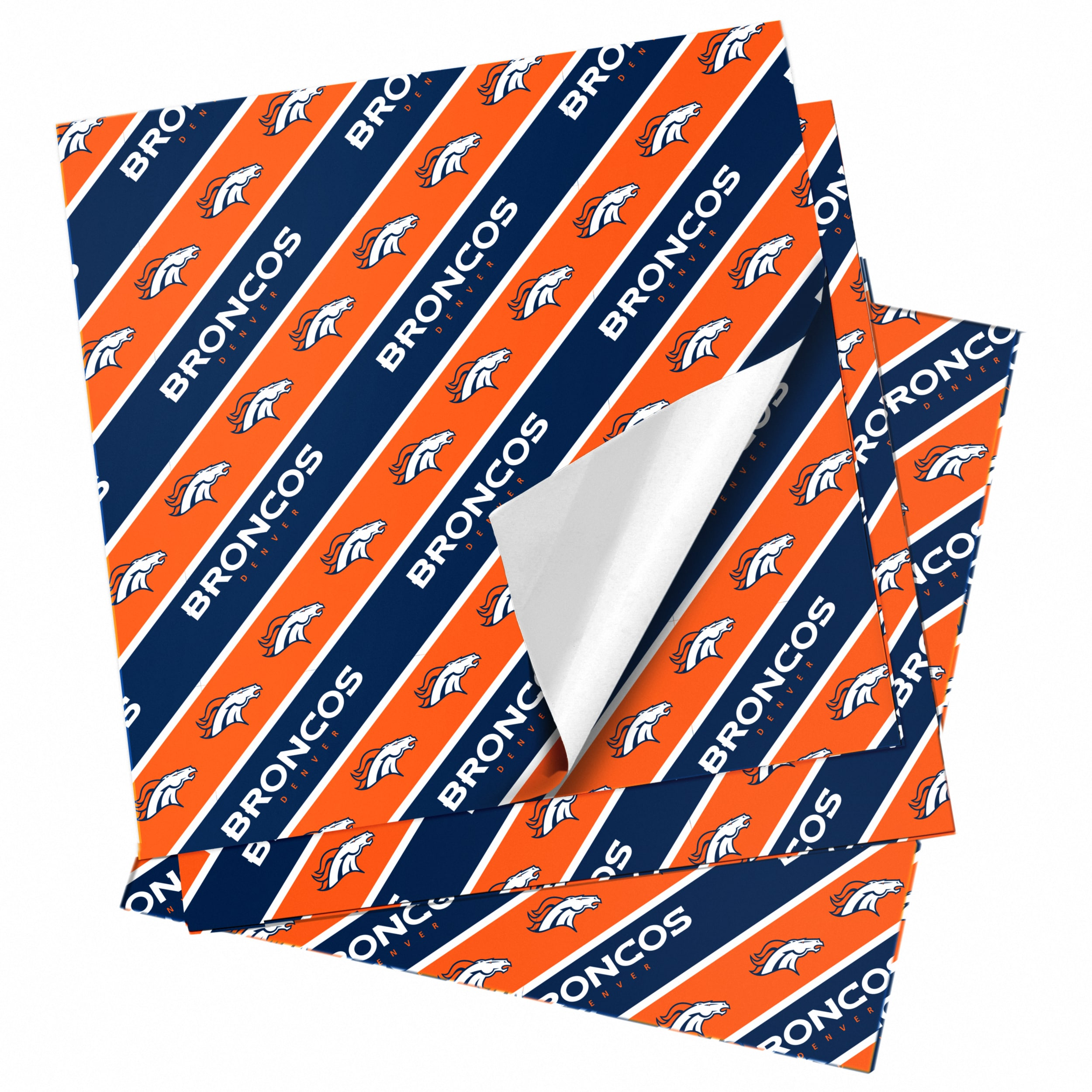 "Denver Broncos 20"" x 30"" Wrapping Paper"