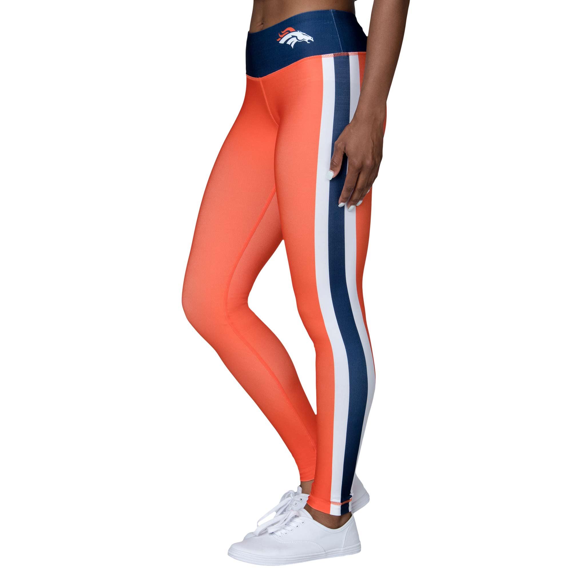 Denver Broncos Women's Uniform Leggings - Orange