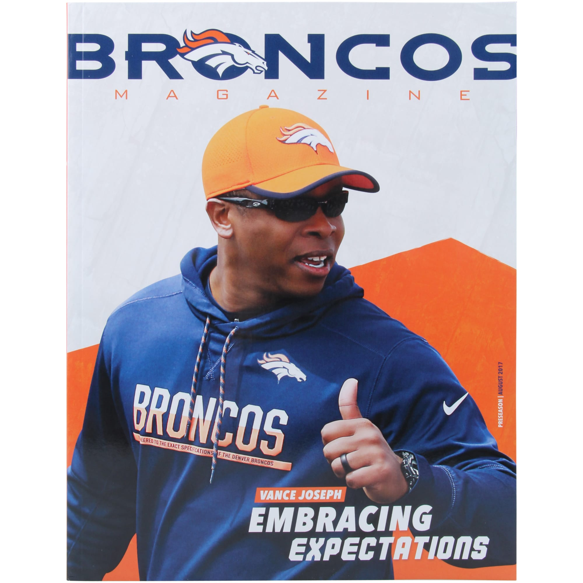 Denver Broncos 2017 Yearbook