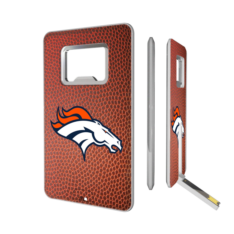 Denver Broncos Football Credit Card USB Drive & Bottle Opener