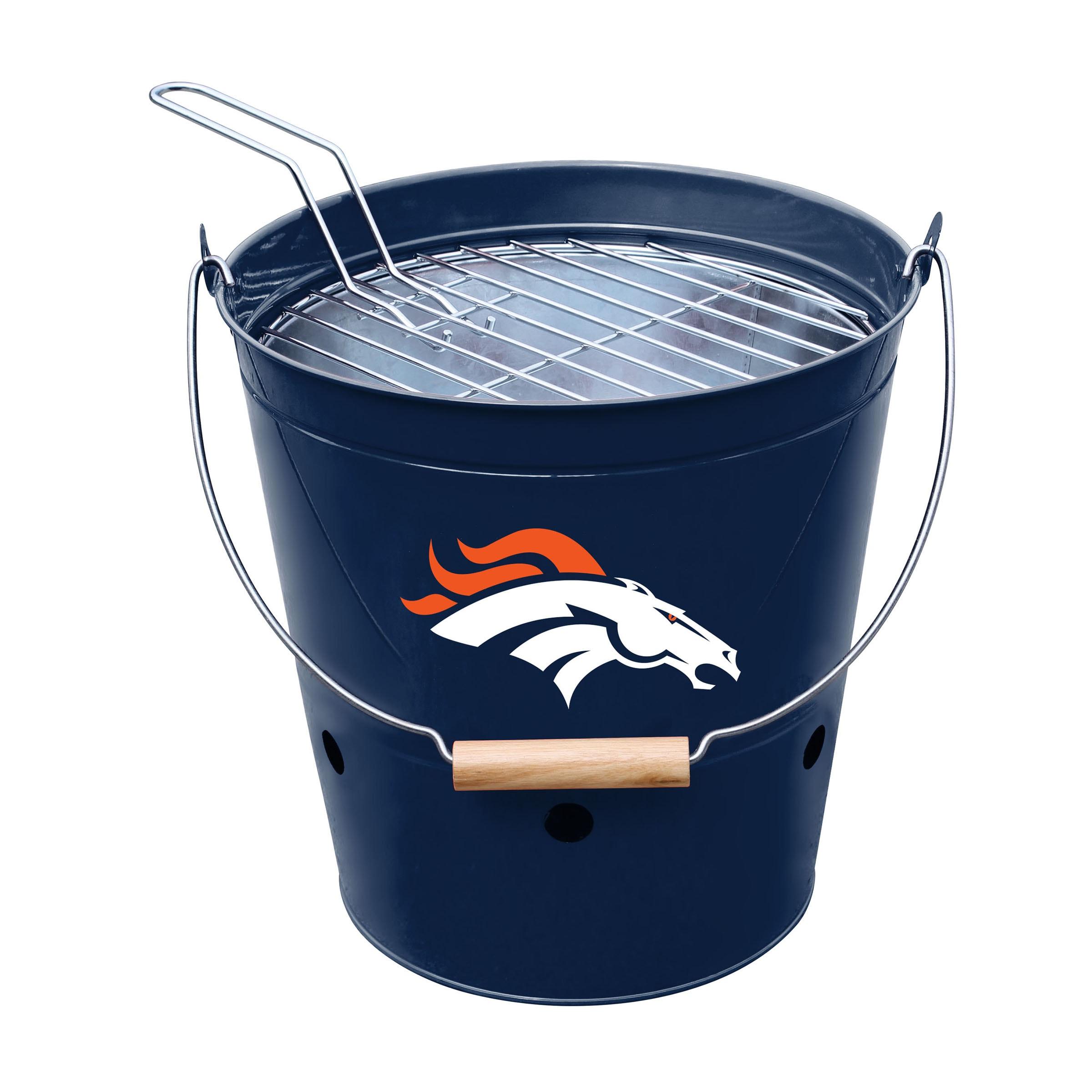 Denver Broncos Imperial Bucket Grill - Blue