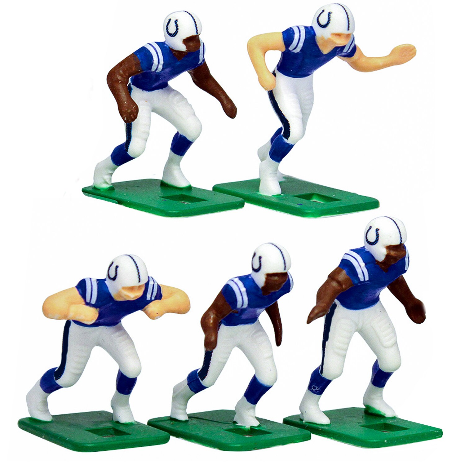 Indianapolis Colts Dark Uniform Action Figures Set