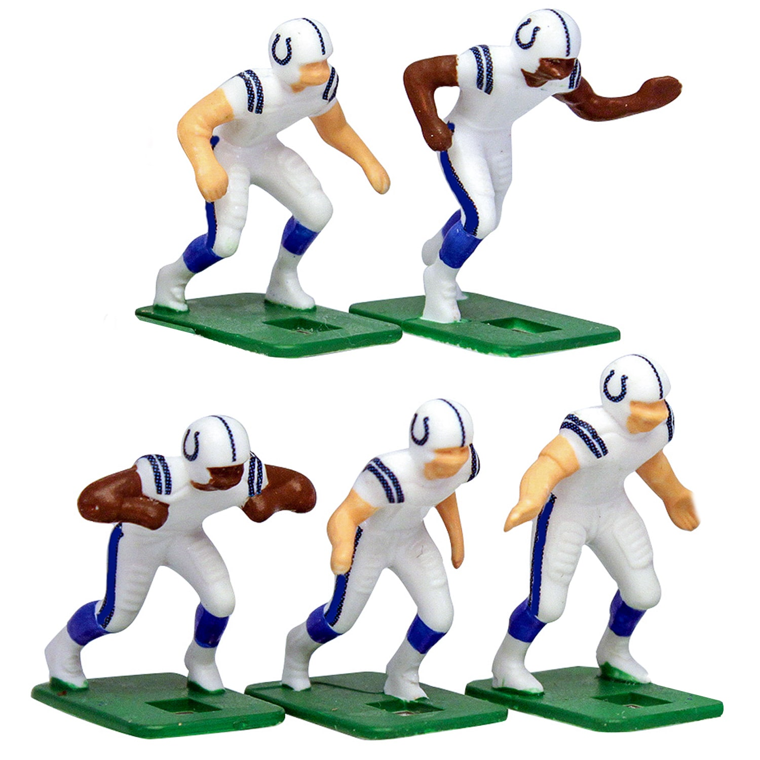 Indianapolis Colts White Uniform Action Figures Set