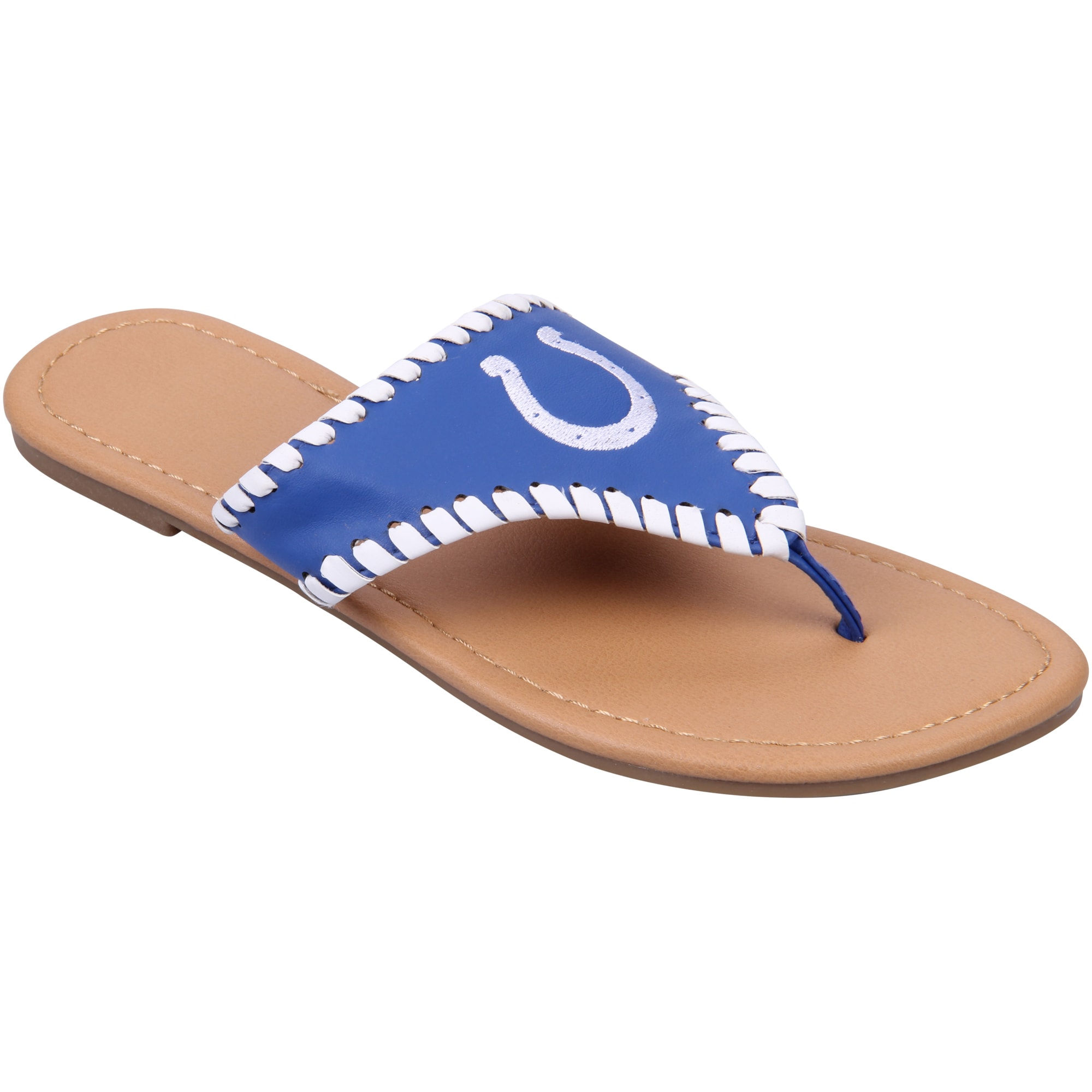 Indianapolis Colts Women's High End Sandals