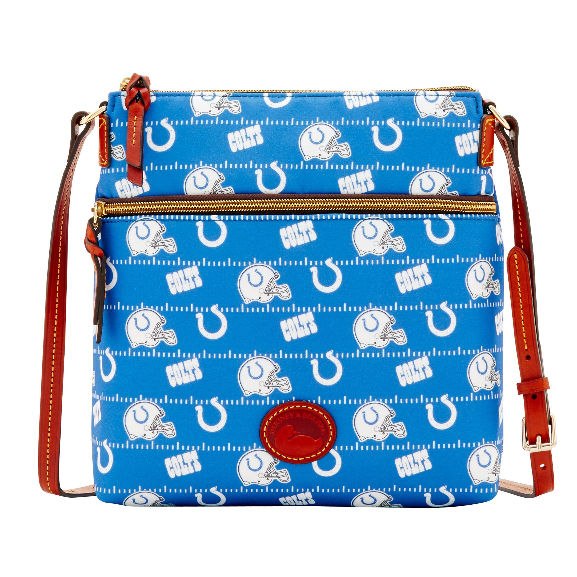 Indianapolis Colts Dooney & Bourke Women's Team Color Nylon Crossbody Purse - Royal