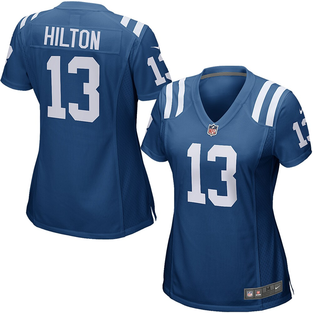 T.Y. Hilton Indianapolis Colts Nike Women's Game Jersey - Royal