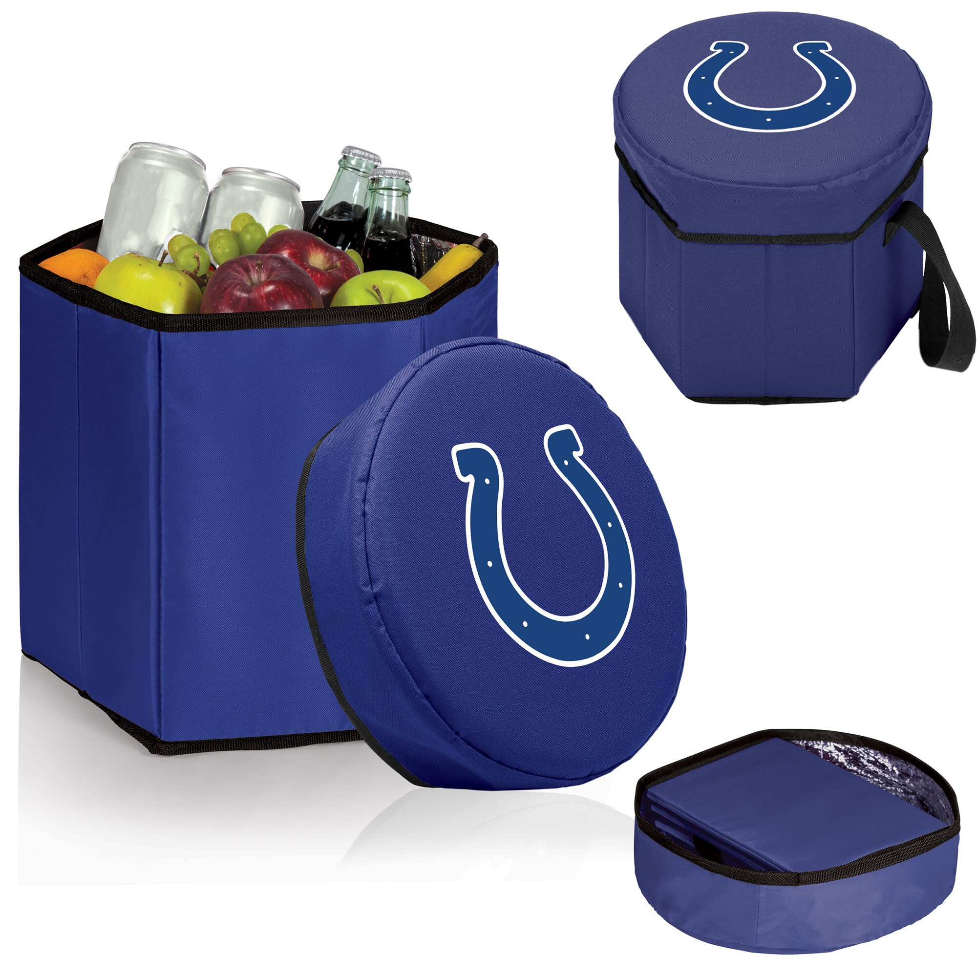 Indianapolis Colts 12 Quart Bongo Cooler - Navy