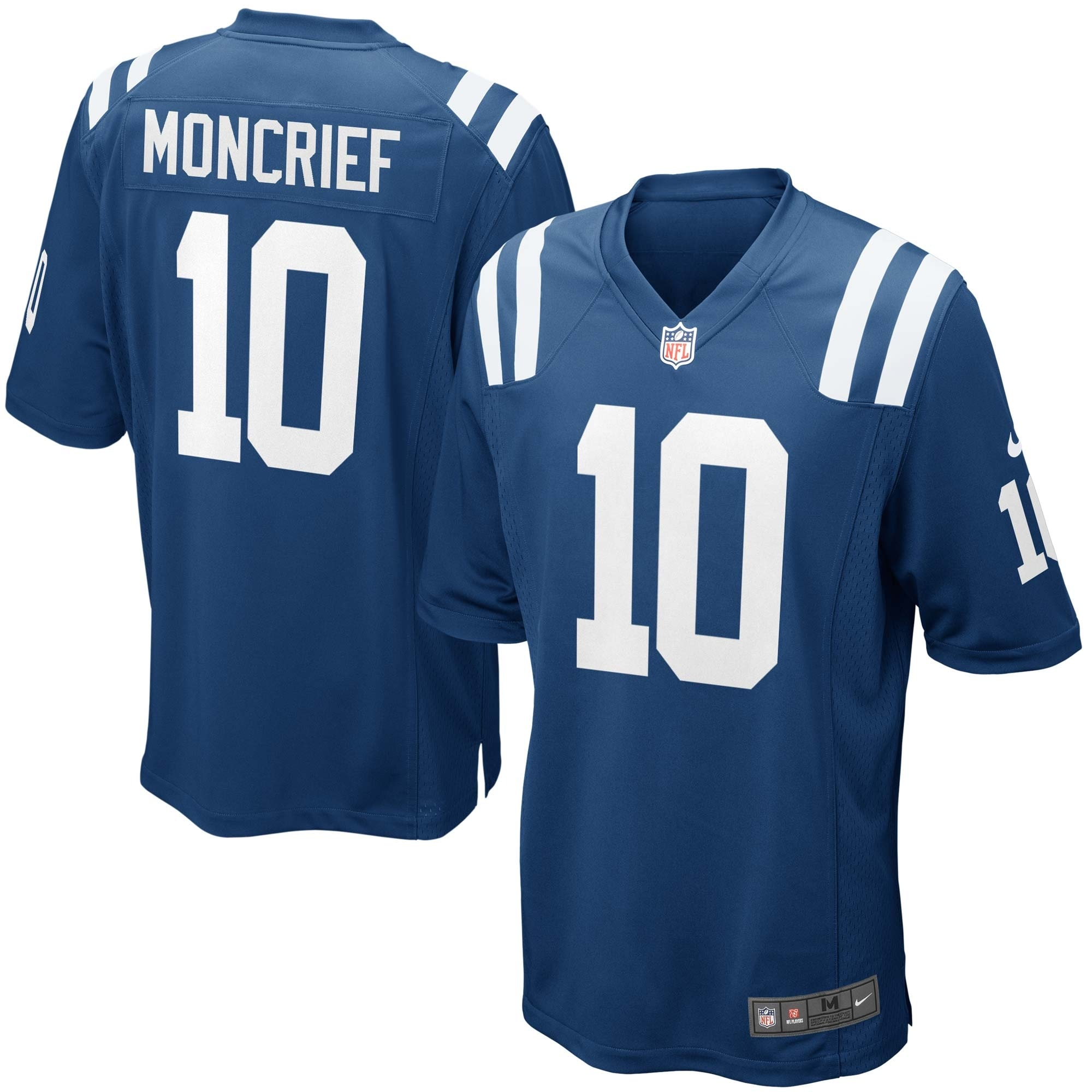 Donte Moncrief Indianapolis Colts Youth Nike Team Color Game Jersey - Royal Blue