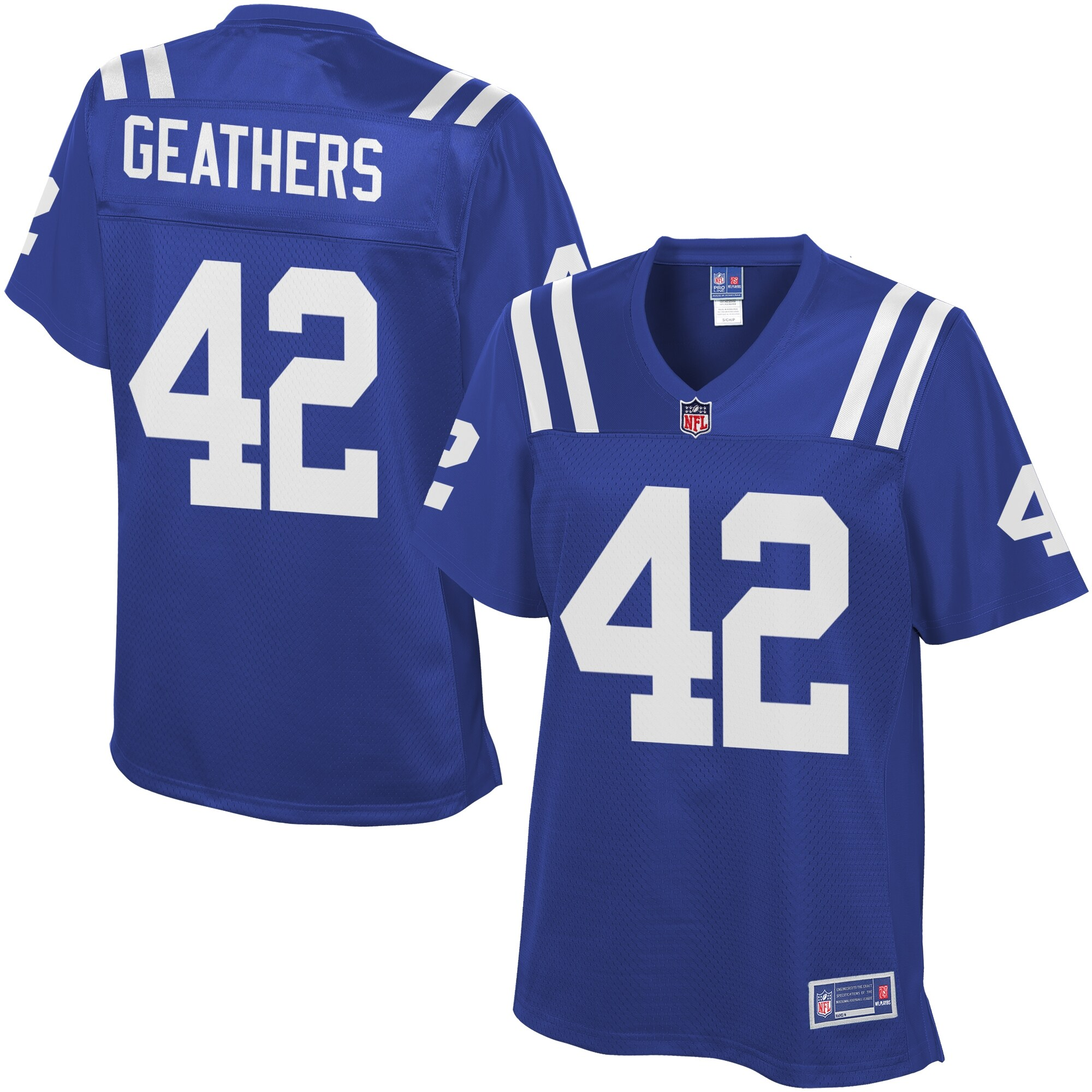 Clayton Geathers Indianapolis Colts NFL Pro Line Women's Team Color Jersey - Royal
