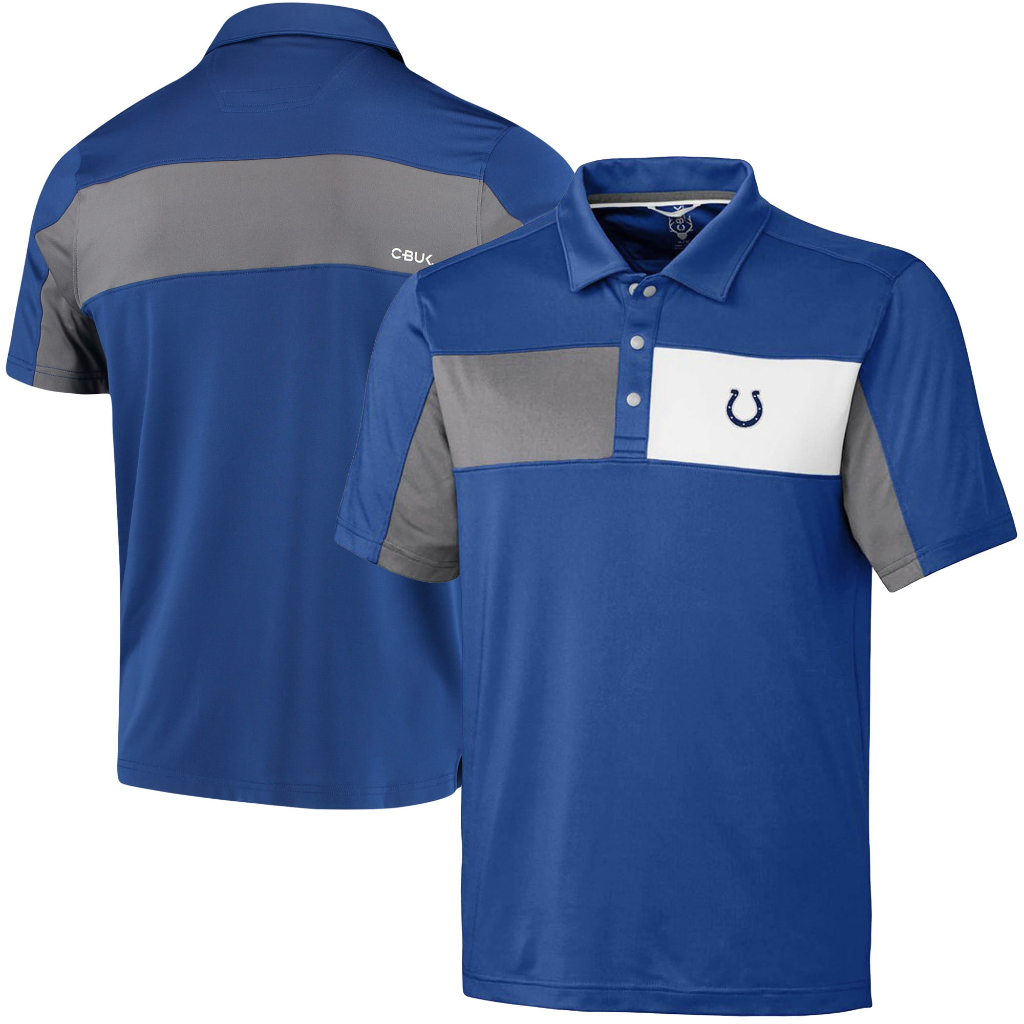 Indianapolis Colts CBUK by Cutter & Buck Logan Polo - Royal