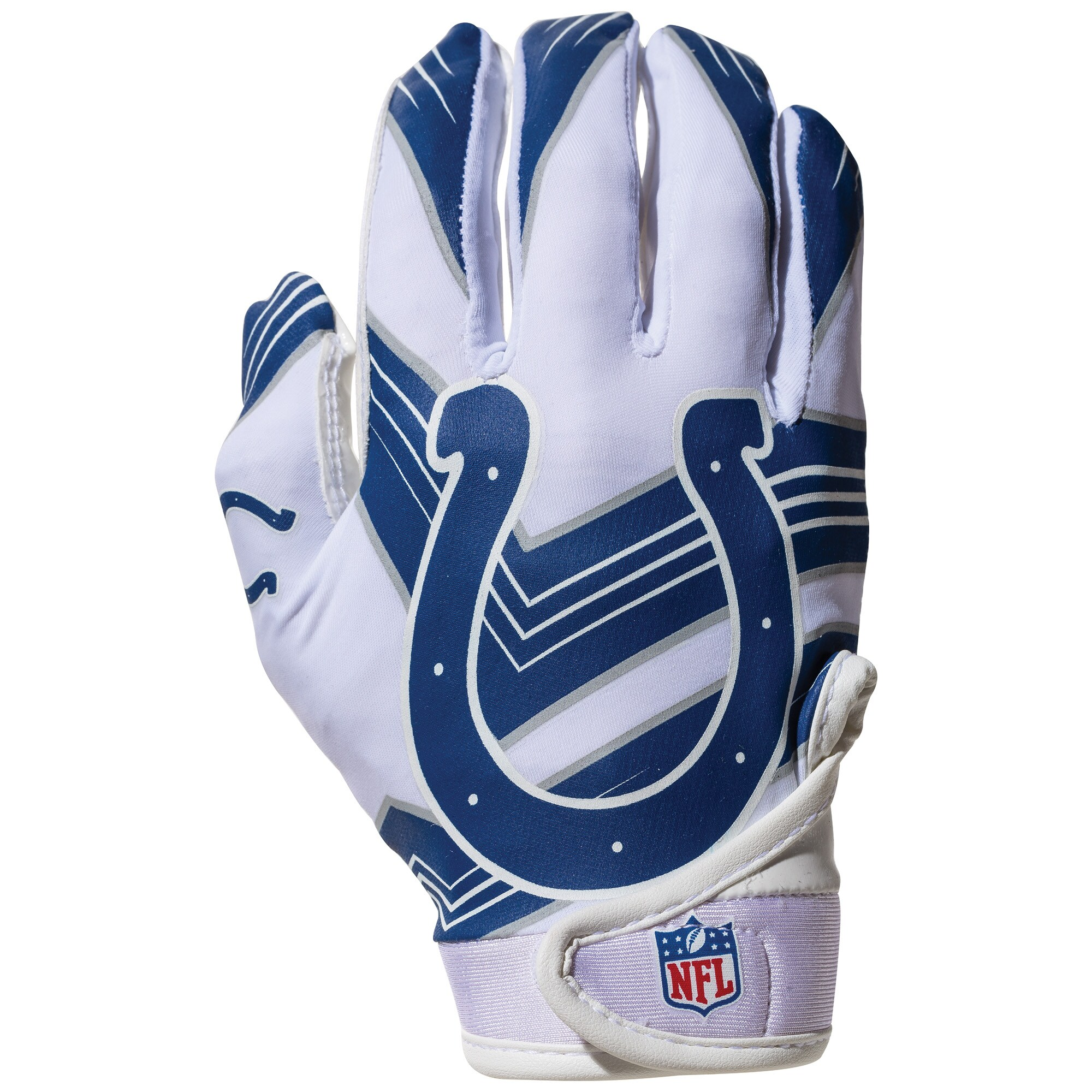 Indianapolis Colts Franklin Sports Youth Receiver Gloves
