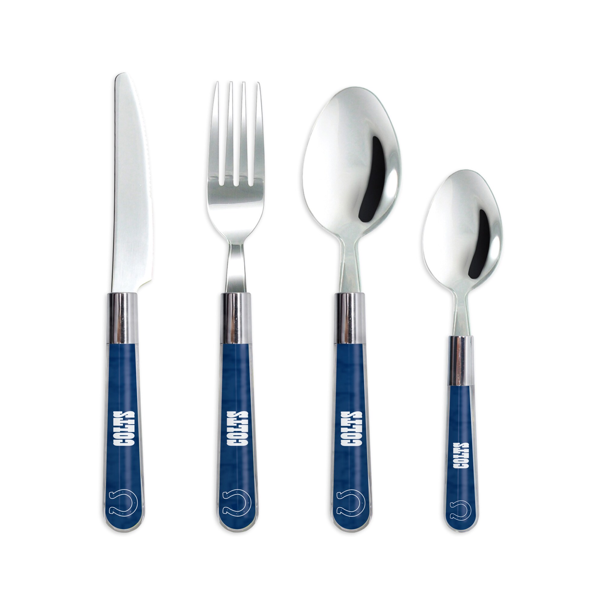 Indianapolis Colts 16-Piece Flatware Set - Blue