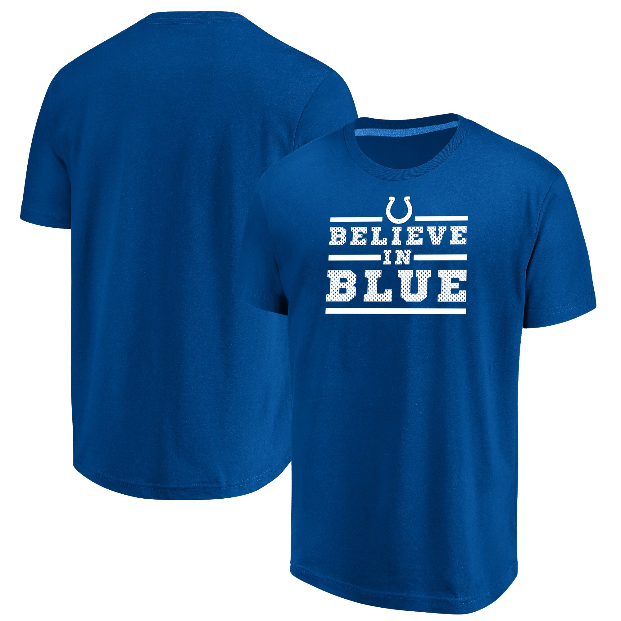 Indianapolis Colts Majestic Big & Tall Safety Blitz T-Shirt - Royal